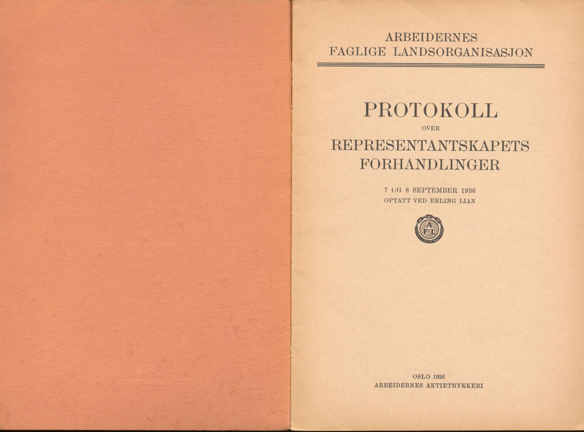 AAB, Landsorganisasjonen i Norge, 1911-1953, s. 191