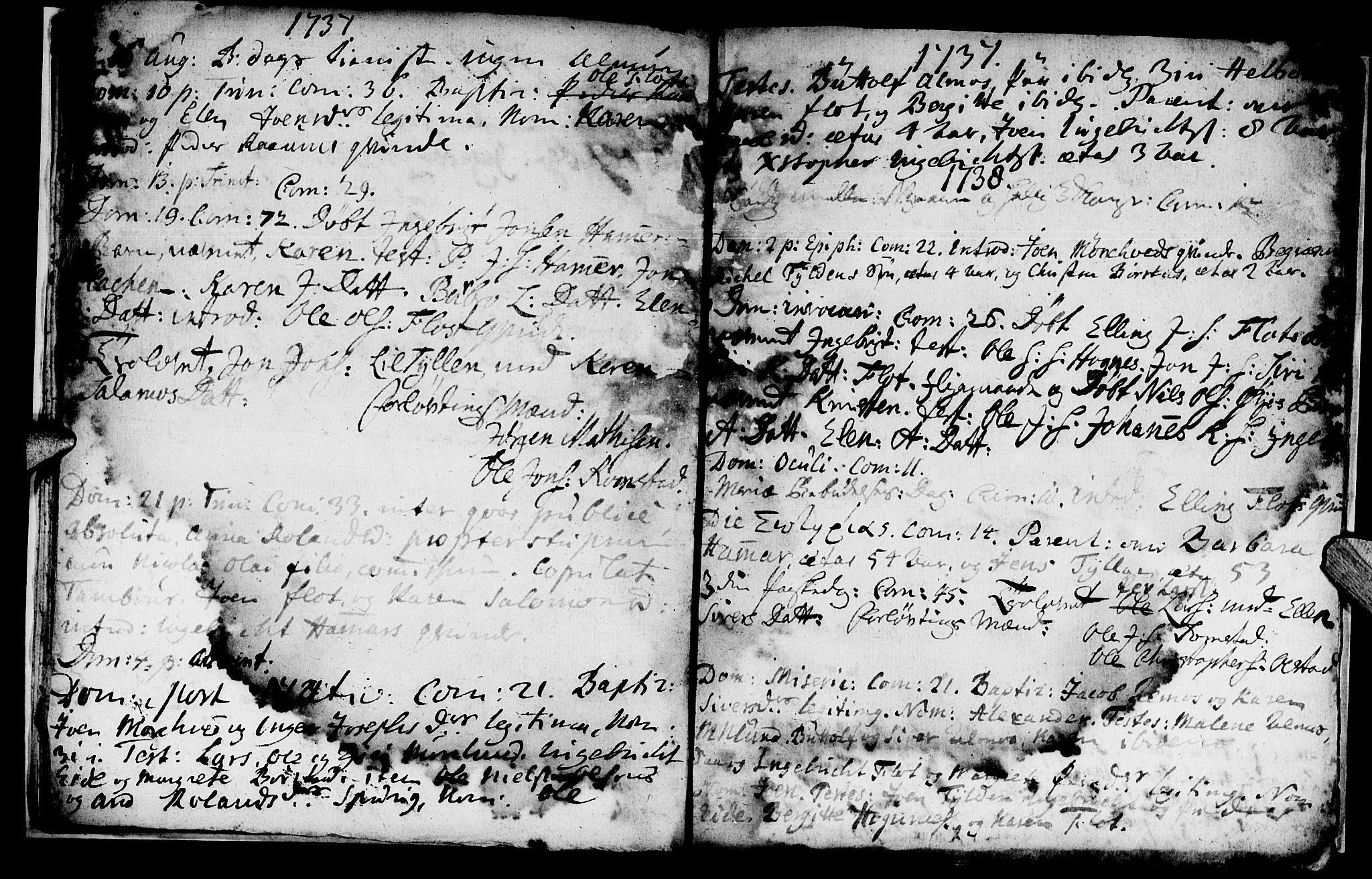 SAT, Ministerialprotokoller, klokkerbøker og fødselsregistre - Nord-Trøndelag, 765/L0560: Ministerialbok nr. 765A01, 1706-1748, s. 20