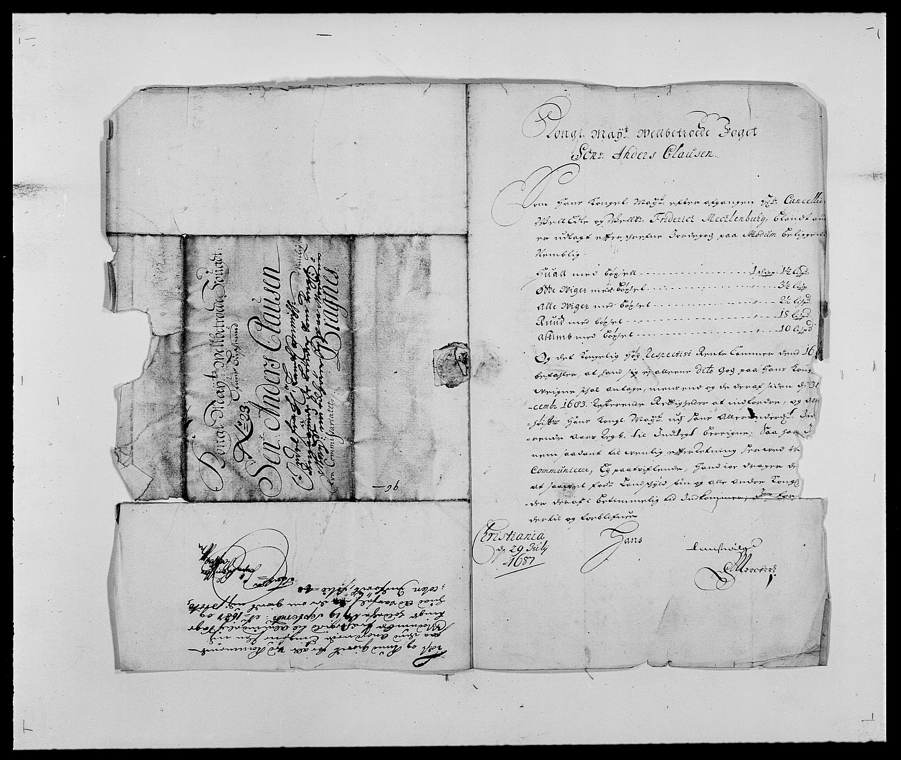 RA, Rentekammeret inntil 1814, Reviderte regnskaper, Fogderegnskap, R25/L1679: Fogderegnskap Buskerud, 1687-1688, s. 13