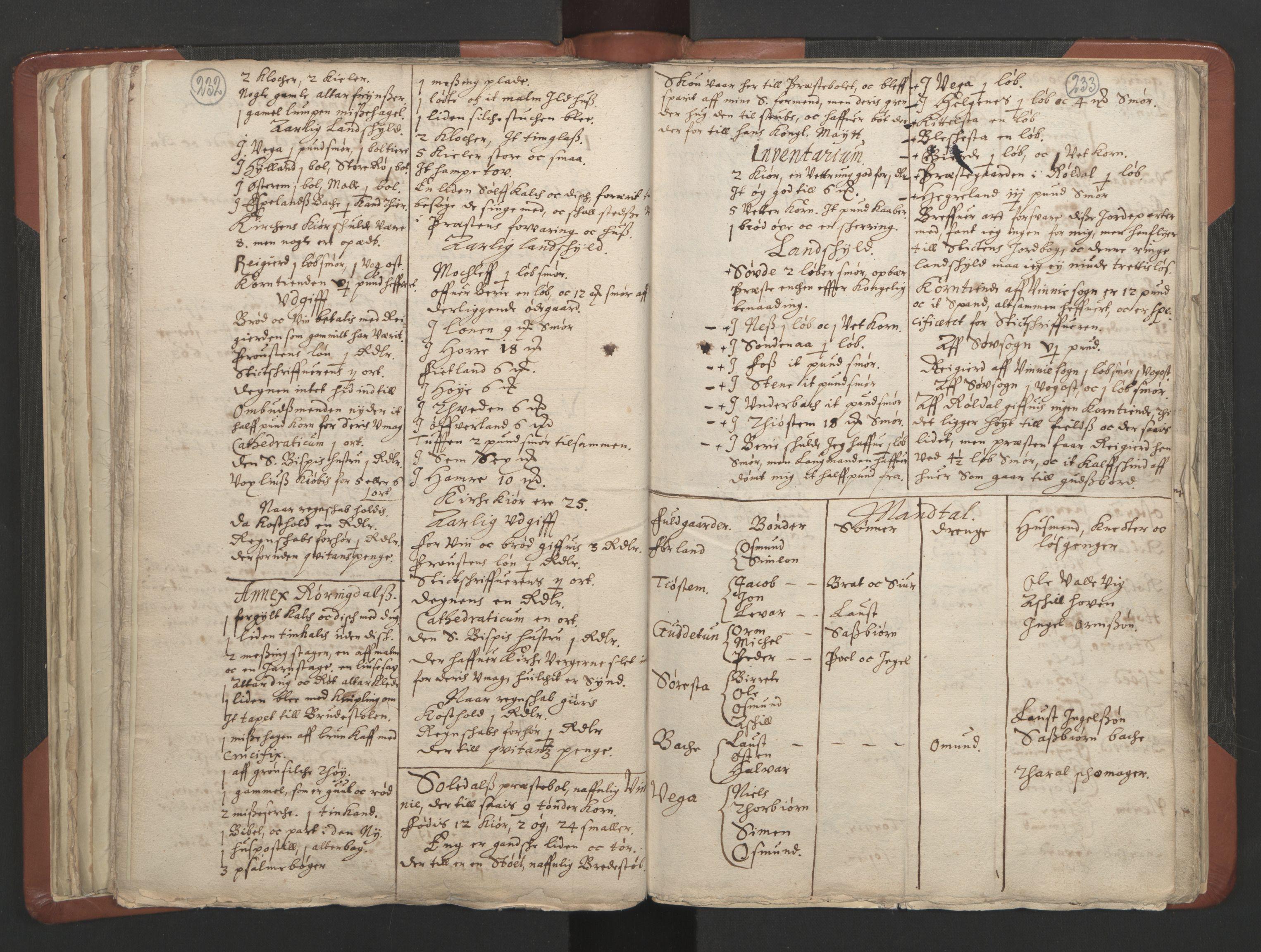 RA, Sogneprestenes manntall 1664-1666, nr. 19: Ryfylke prosti, 1664-1666, s. 232-233