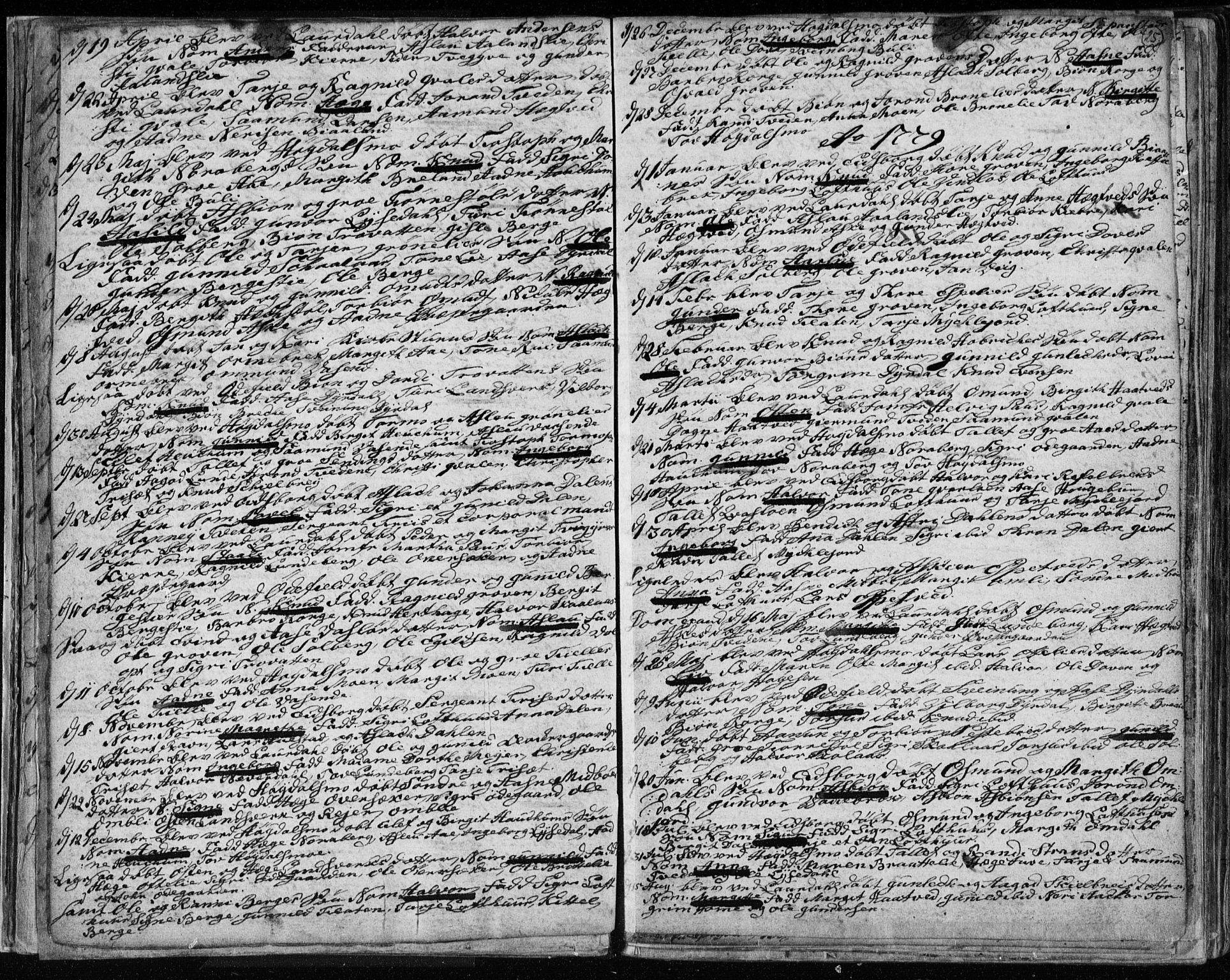 SAKO, Lårdal kirkebøker, F/Fa/L0003: Ministerialbok nr. I 3, 1754-1790, s. 25