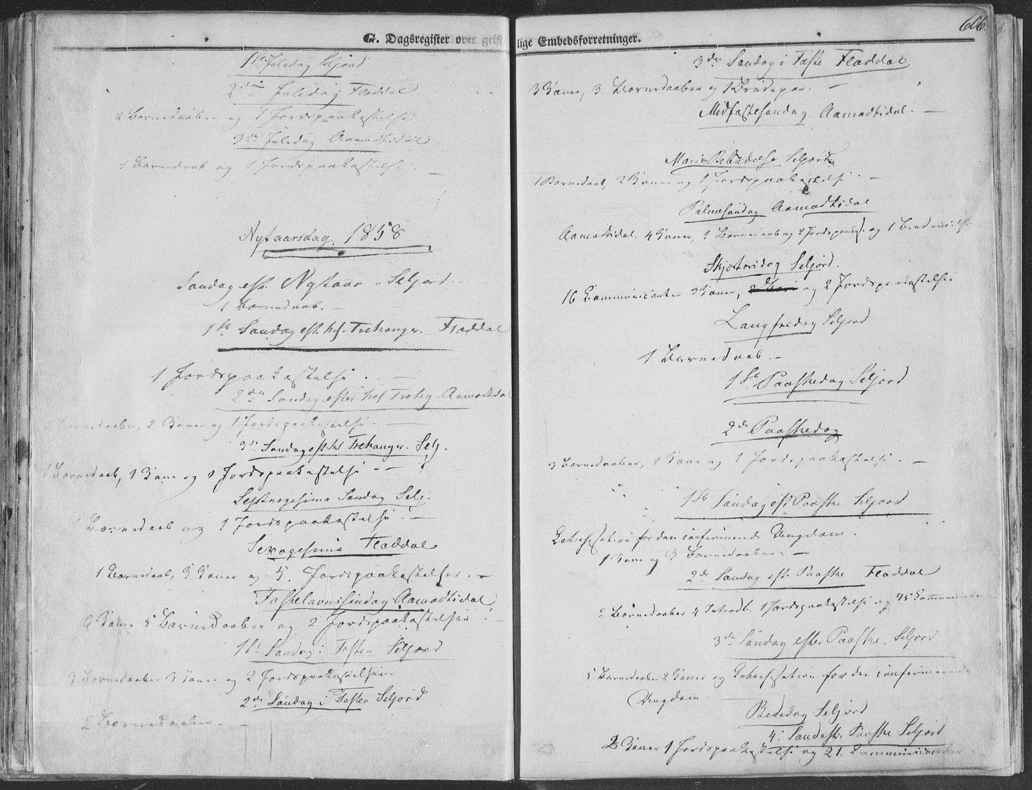 SAKO, Seljord kirkebøker, F/Fa/L012b: Ministerialbok nr. I 12B, 1850-1865, s. 606