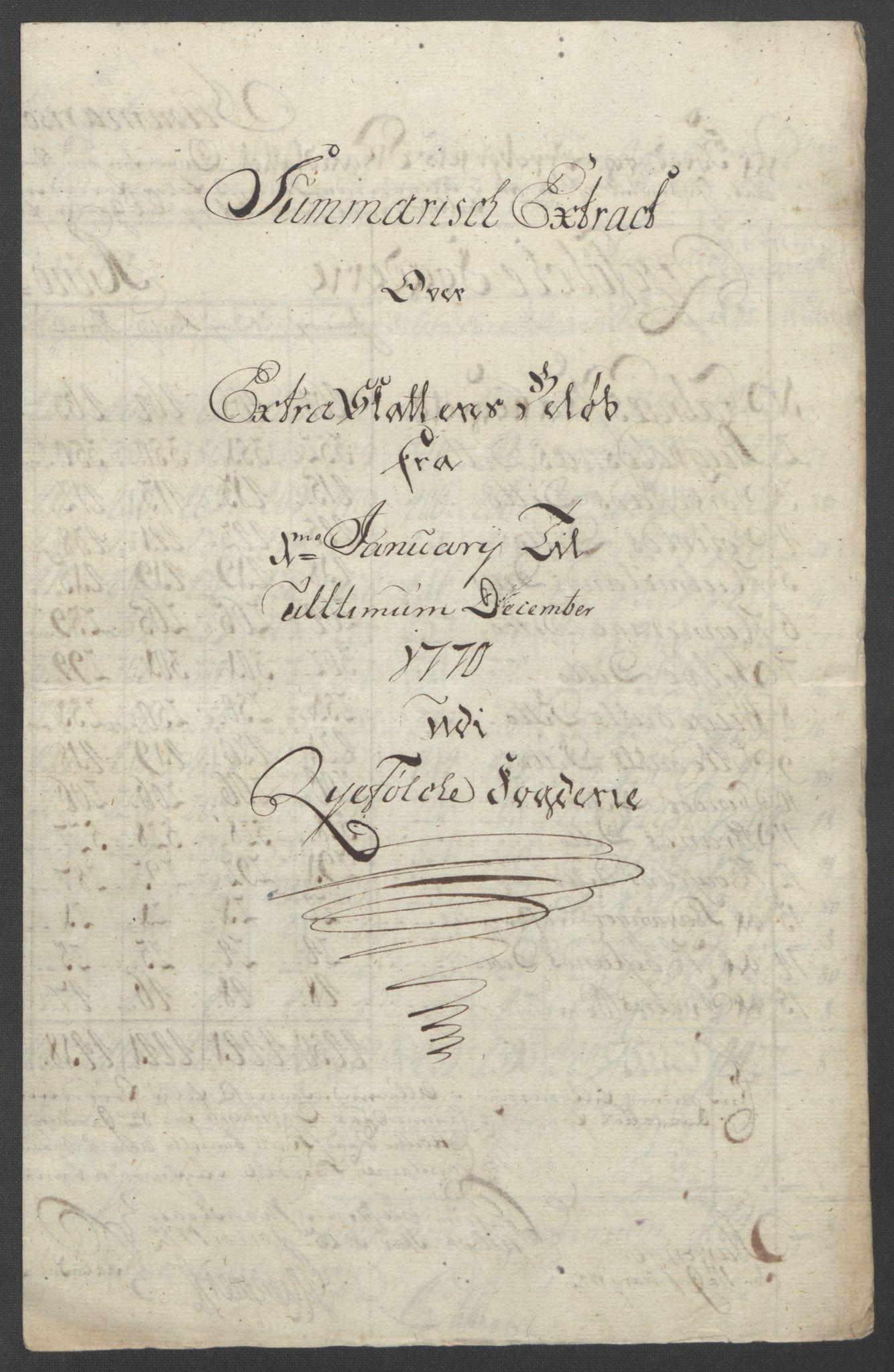 RA, Rentekammeret inntil 1814, Reviderte regnskaper, Fogderegnskap, R47/L2972: Ekstraskatten Ryfylke, 1762-1780, s. 209