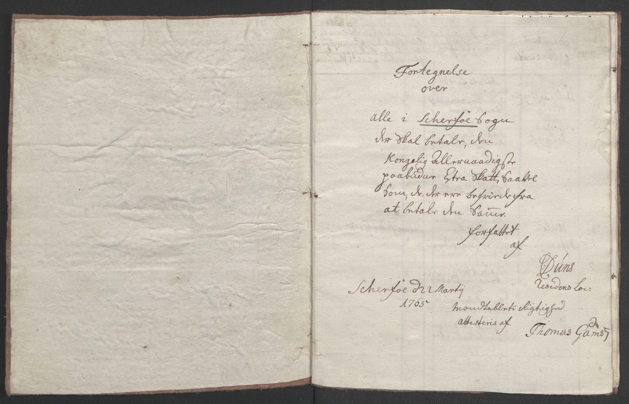 RA, Rentekammeret inntil 1814, Realistisk ordnet avdeling, Ol/L0022b: [Gg 10]: Ekstraskatten, 23.09.1762. Senja og Troms, 1765-1768, s. 63