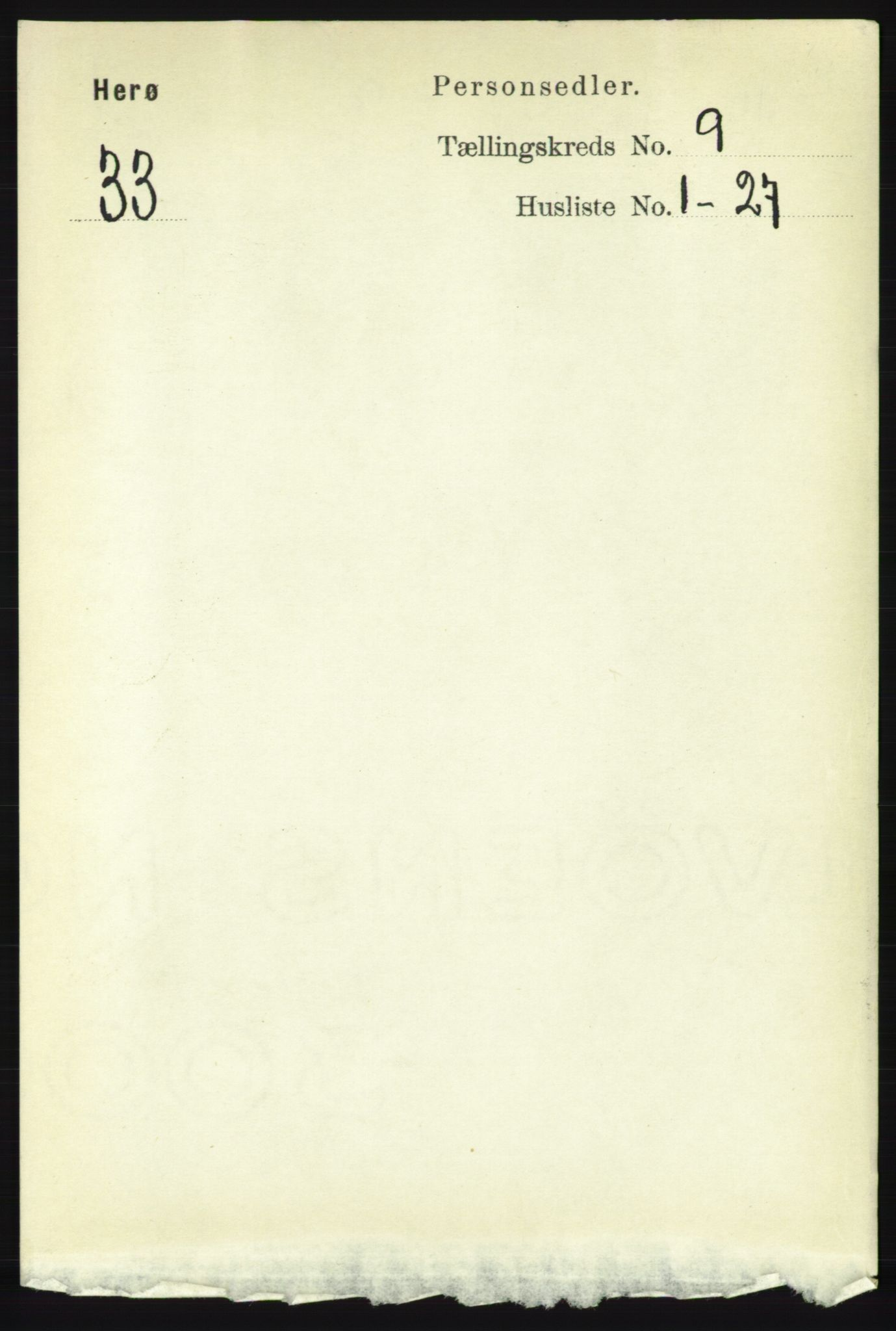 RA, Folketelling 1891 for 1818 Herøy herred, 1891, s. 3519