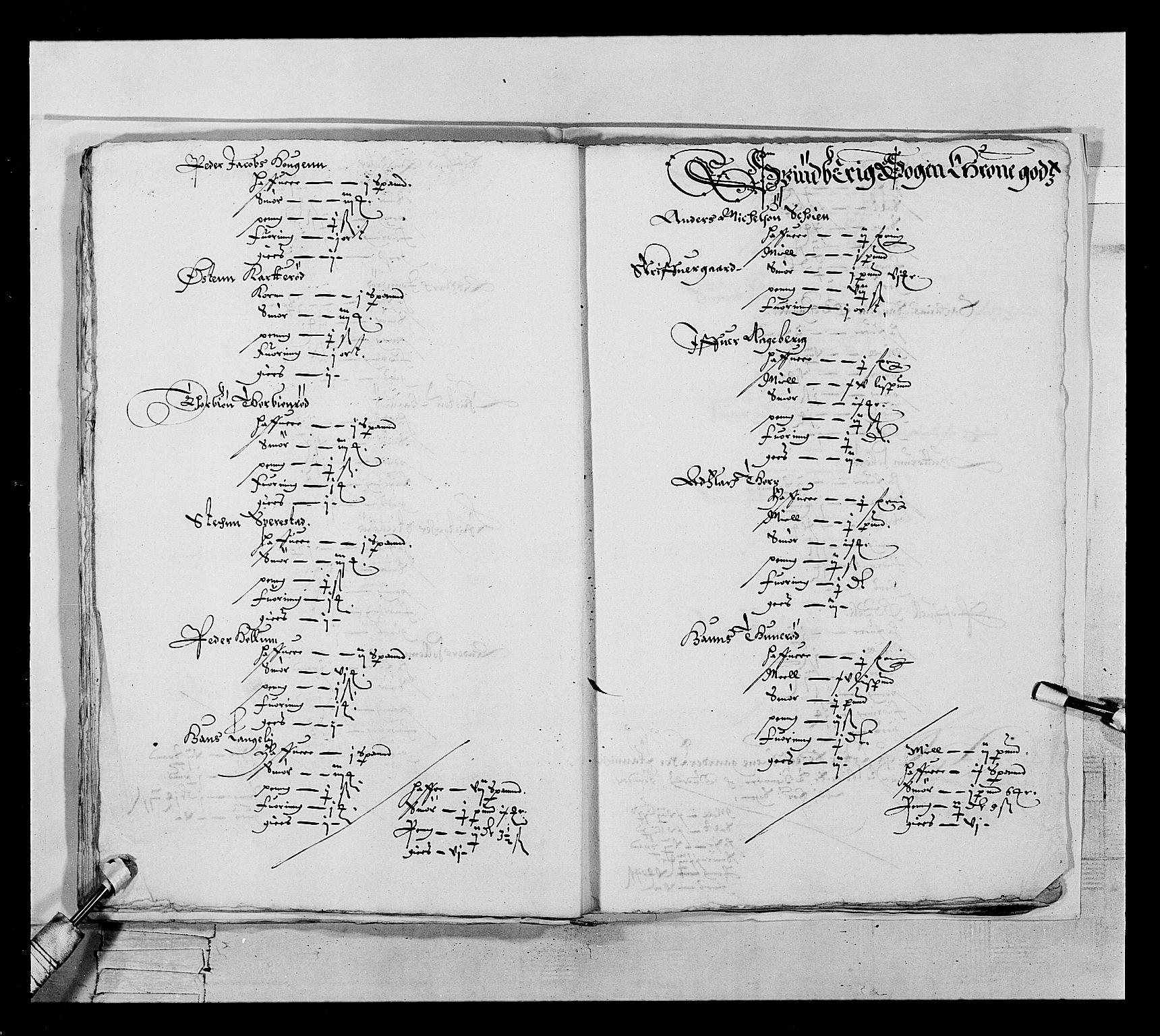 RA, Stattholderembetet 1572-1771, Ek/L0022: Jordebøker 1633-1658:, 1646-1647, s. 42
