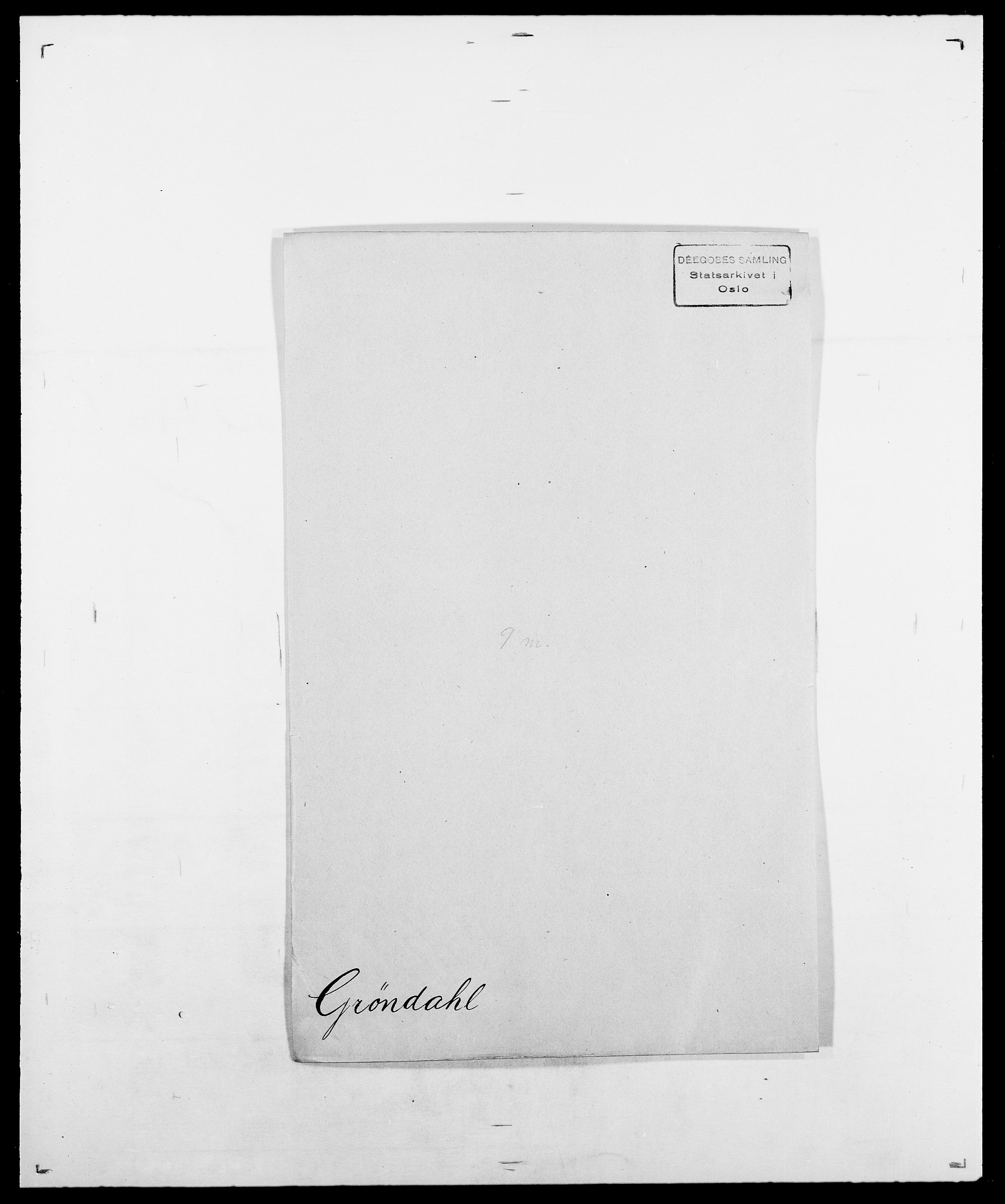 SAO, Delgobe, Charles Antoine - samling, D/Da/L0015: Grodtshilling - Halvorsæth, s. 227