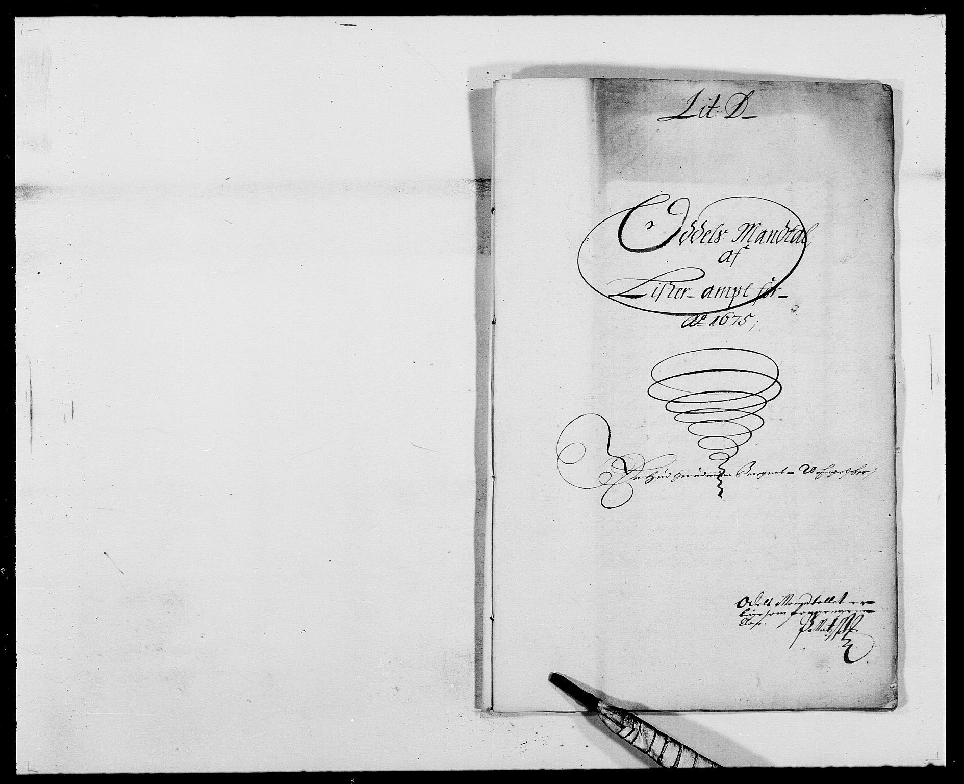 RA, Rentekammeret inntil 1814, Reviderte regnskaper, Fogderegnskap, R41/L2529: Fogderegnskap Lista, 1675-1676, s. 80