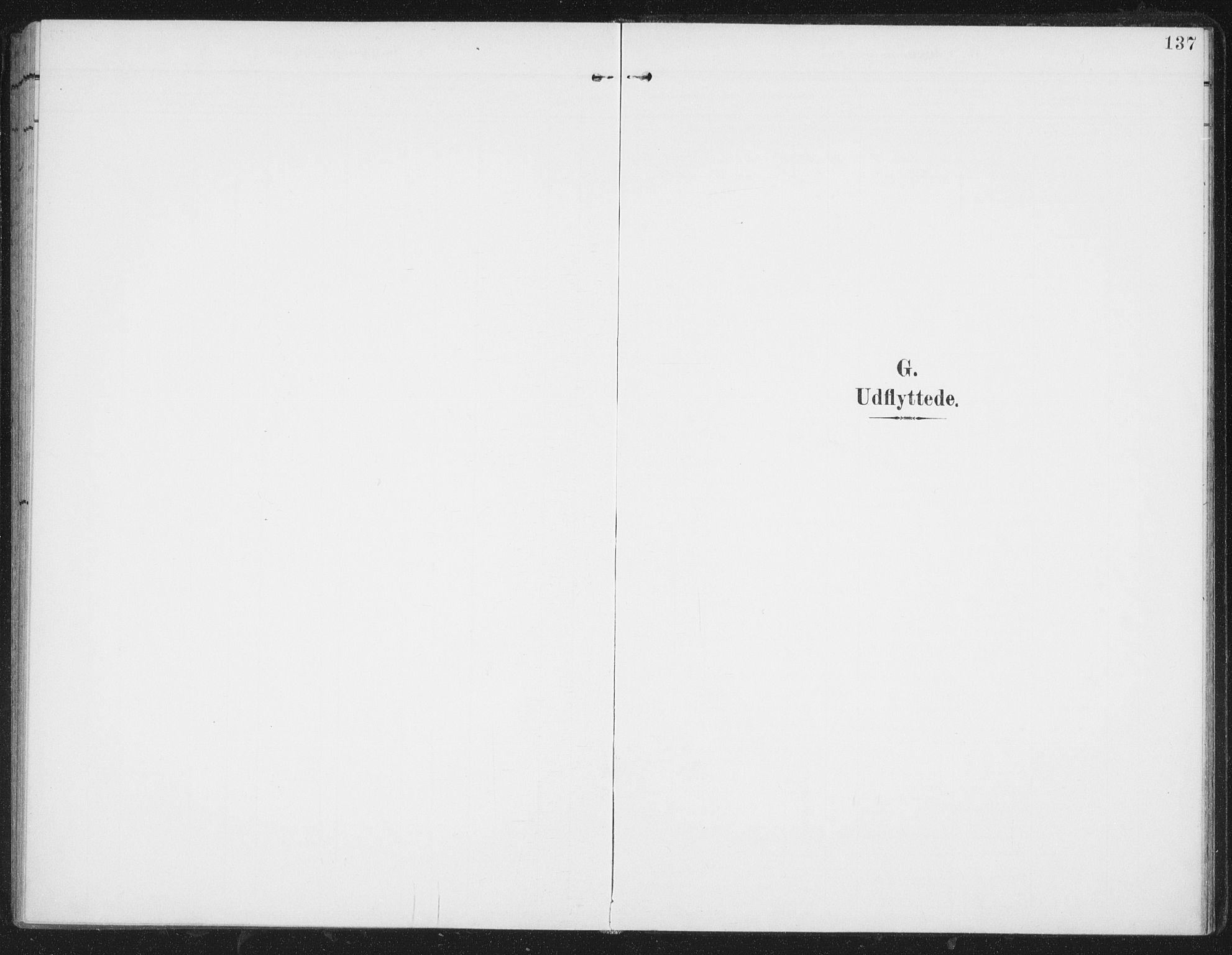 SAT, Ministerialprotokoller, klokkerbøker og fødselsregistre - Nordland, 827/L0403: Ministerialbok nr. 827A15, 1903-1912, s. 137