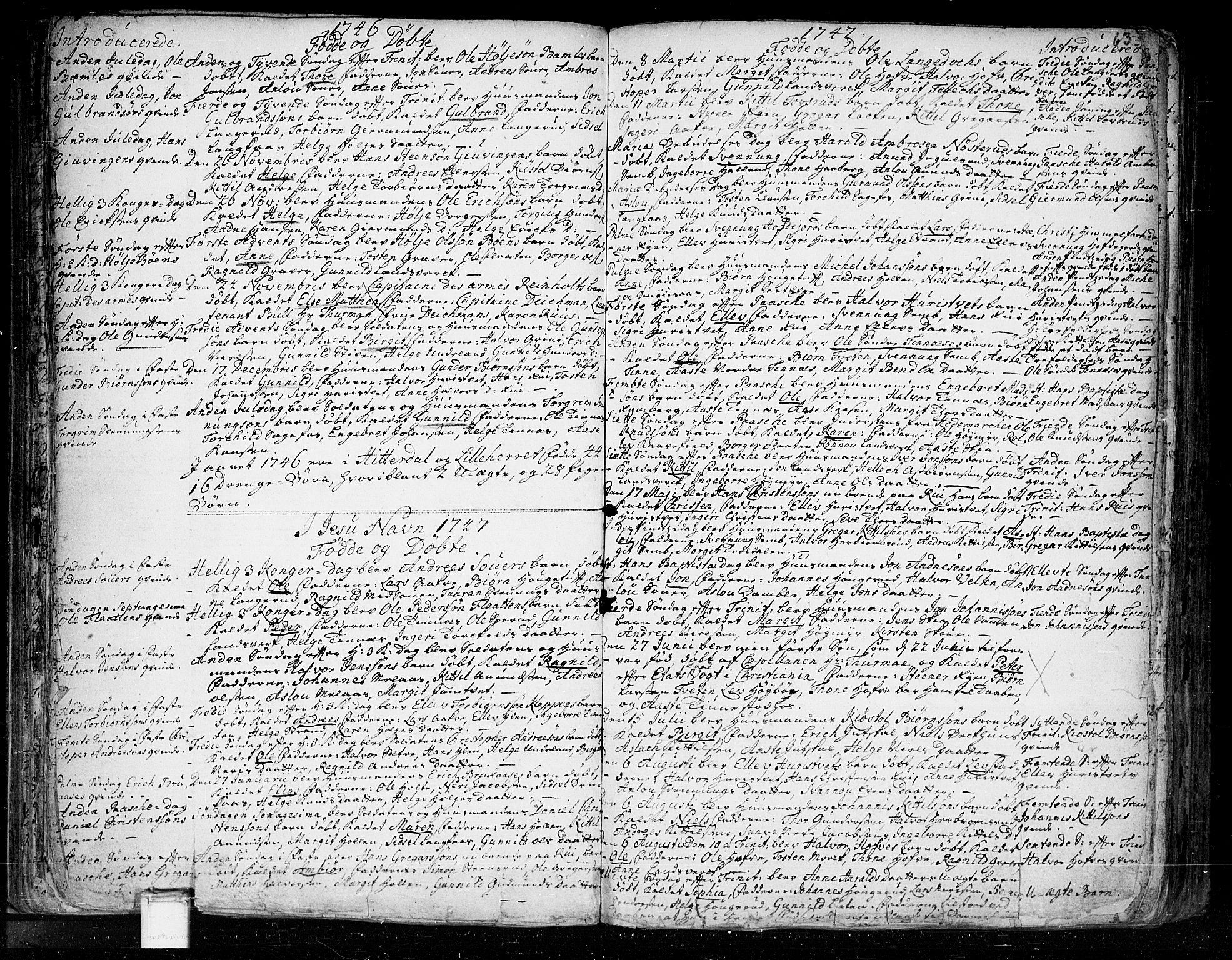 SAKO, Heddal kirkebøker, F/Fa/L0003: Ministerialbok nr. I 3, 1723-1783, s. 63
