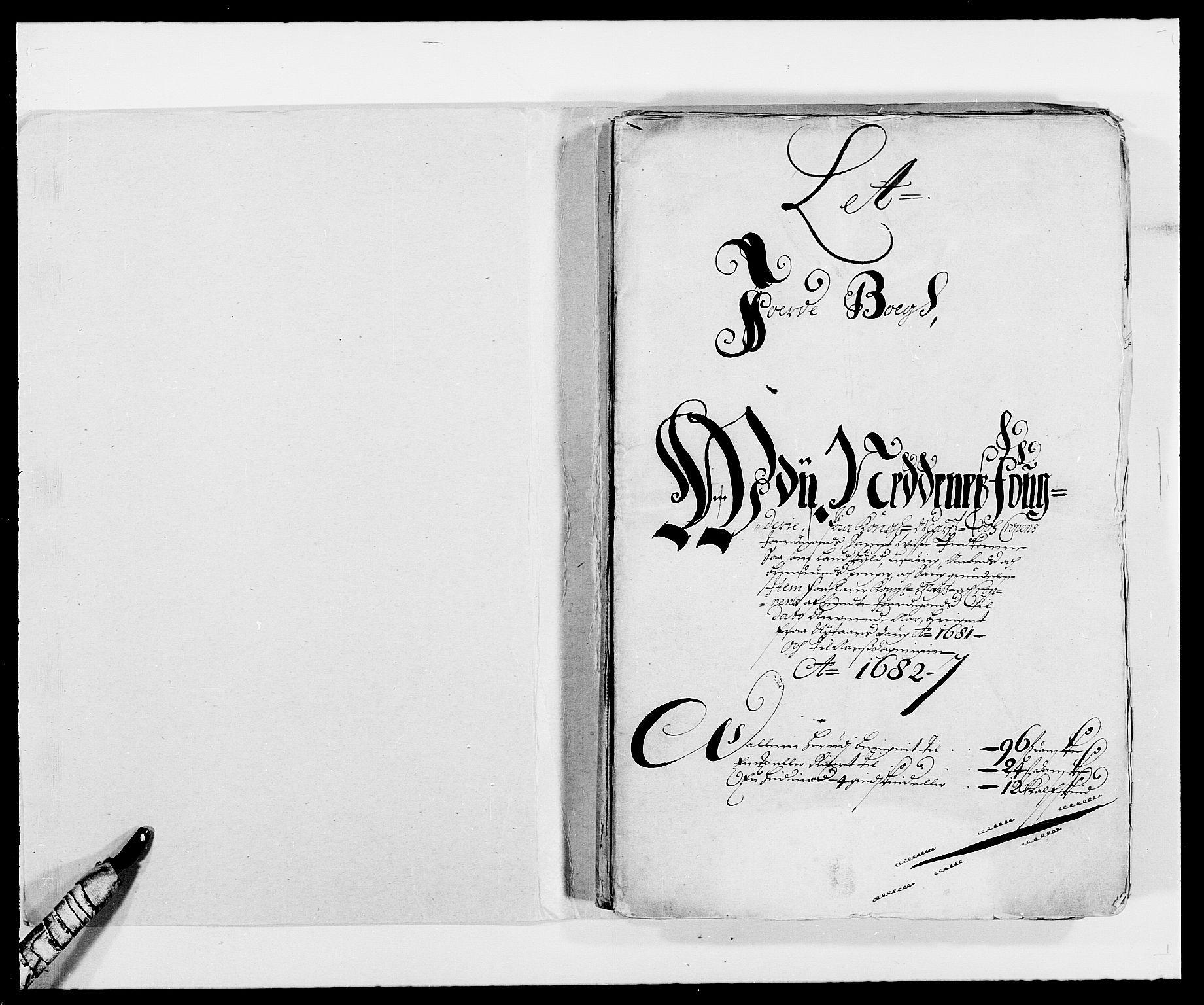 RA, Rentekammeret inntil 1814, Reviderte regnskaper, Fogderegnskap, R39/L2304: Fogderegnskap Nedenes, 1680-1682, s. 148