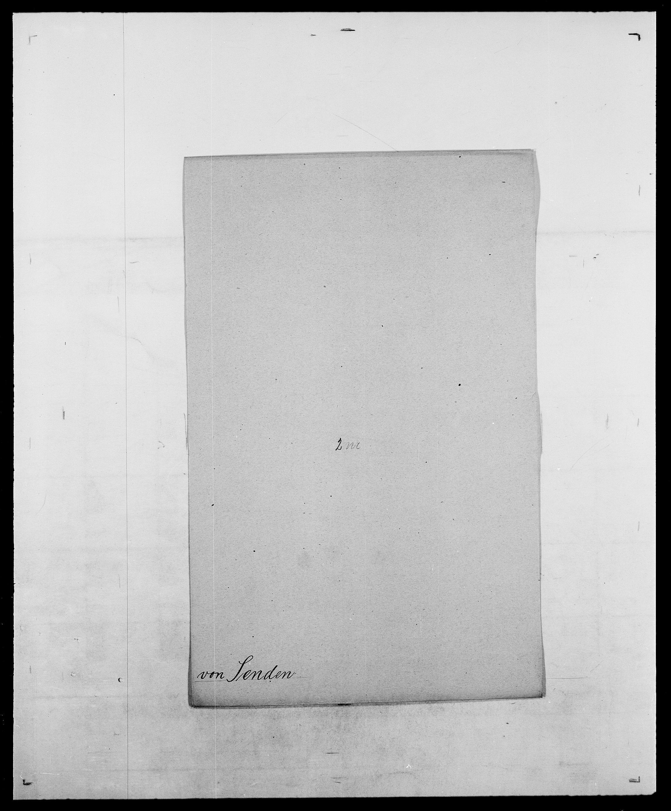 SAO, Delgobe, Charles Antoine - samling, D/Da/L0035: Schnabel - sjetman, s. 707