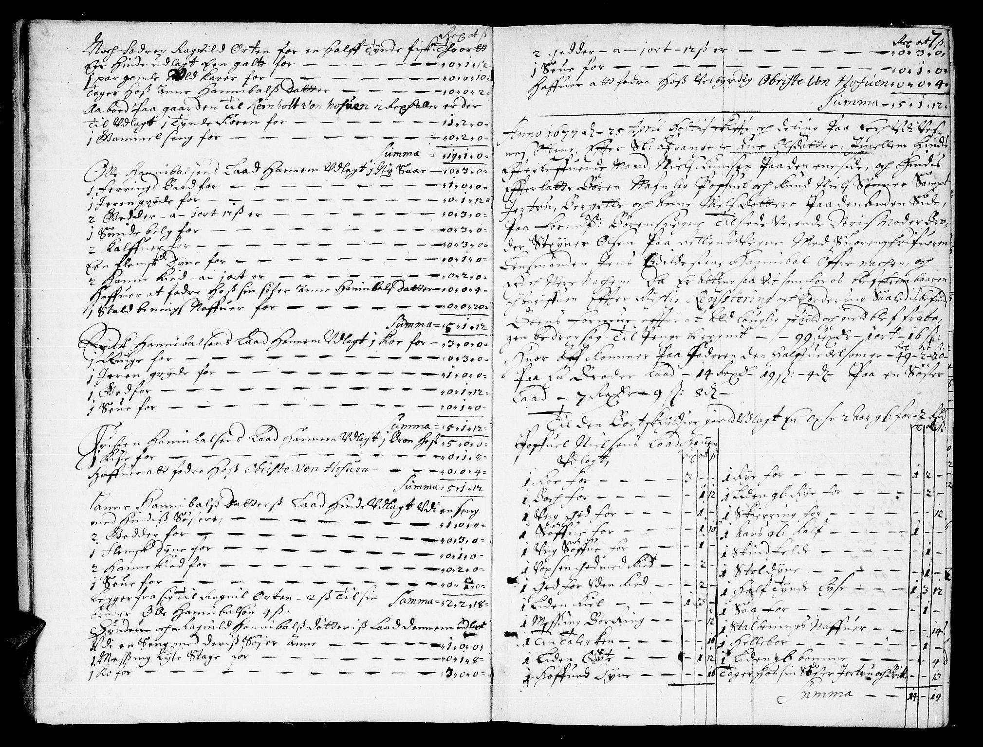 SAT, Romsdal sorenskriveri, 3/3A/L0001: Skifteprotokoll, 1677-1683, s. 6b-7a