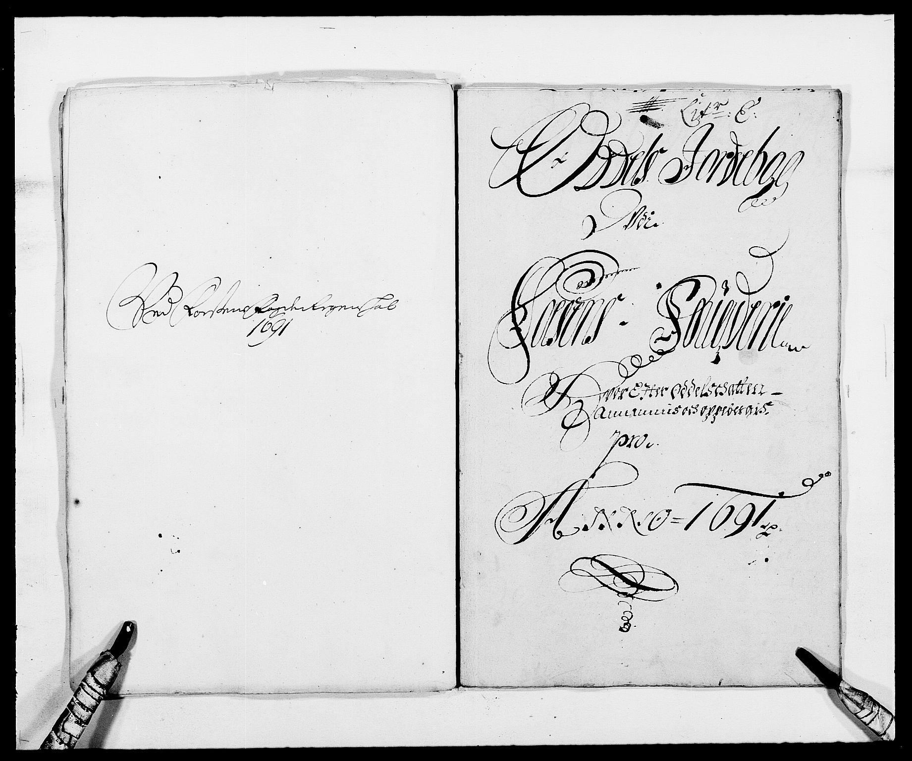 RA, Rentekammeret inntil 1814, Reviderte regnskaper, Fogderegnskap, R57/L3848: Fogderegnskap Fosen, 1690-1691, s. 226