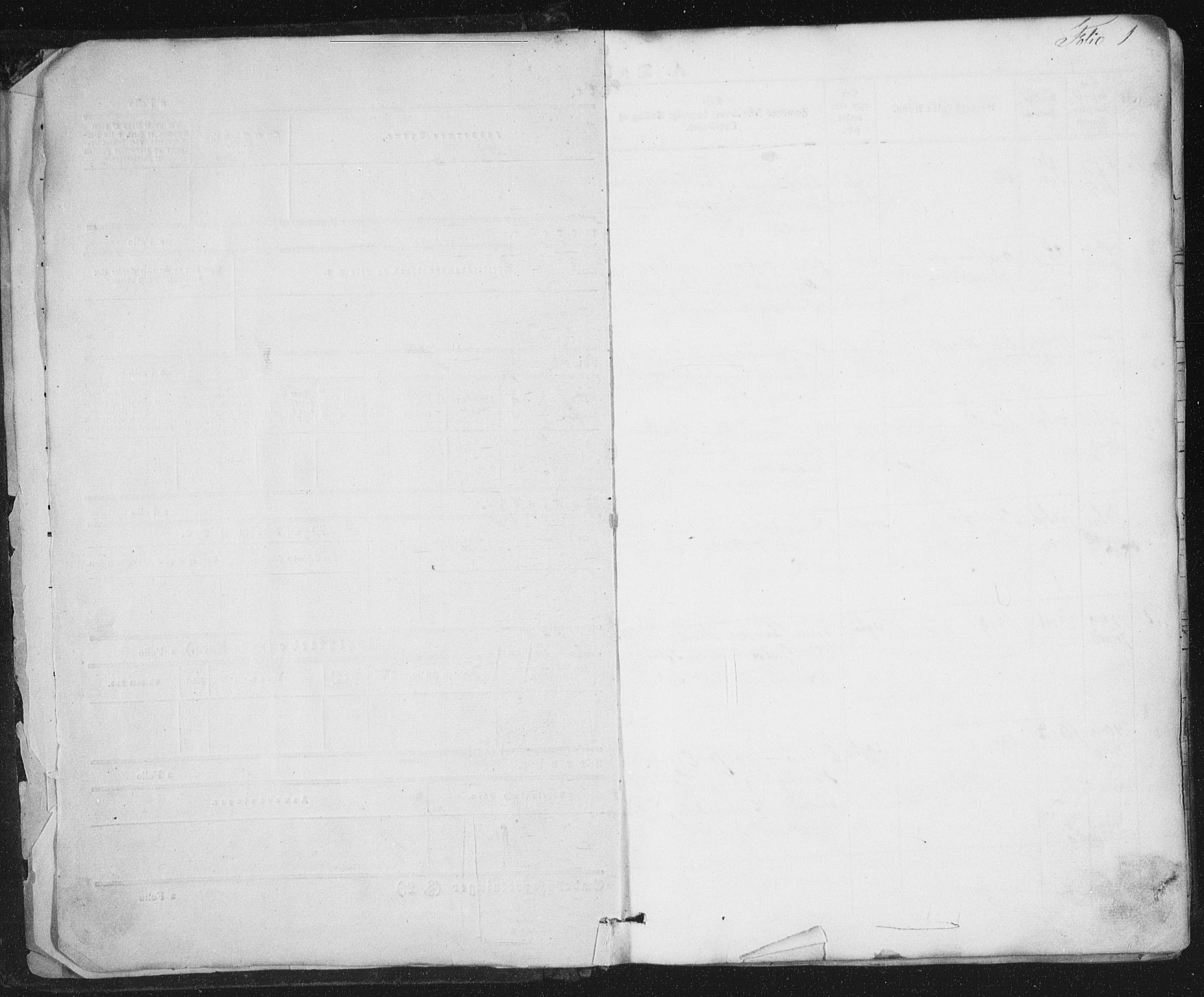 SAT, Ministerialprotokoller, klokkerbøker og fødselsregistre - Sør-Trøndelag, 691/L1076: Ministerialbok nr. 691A08, 1852-1861, s. 1