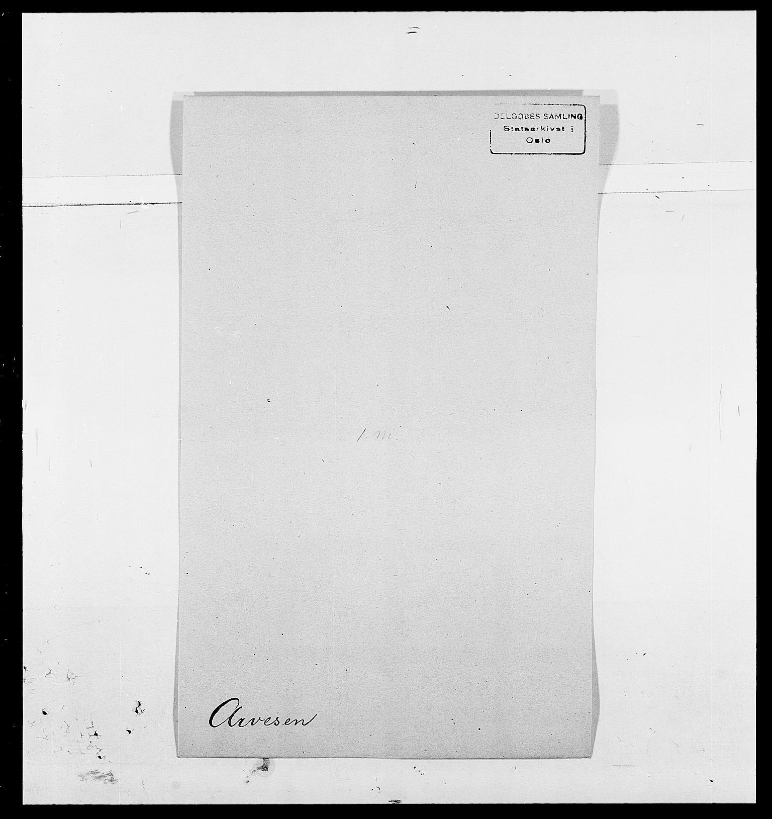 SAO, Delgobe, Charles Antoine - samling, D/Da/L0002: Anker, Ancher - Bauner, s. 388