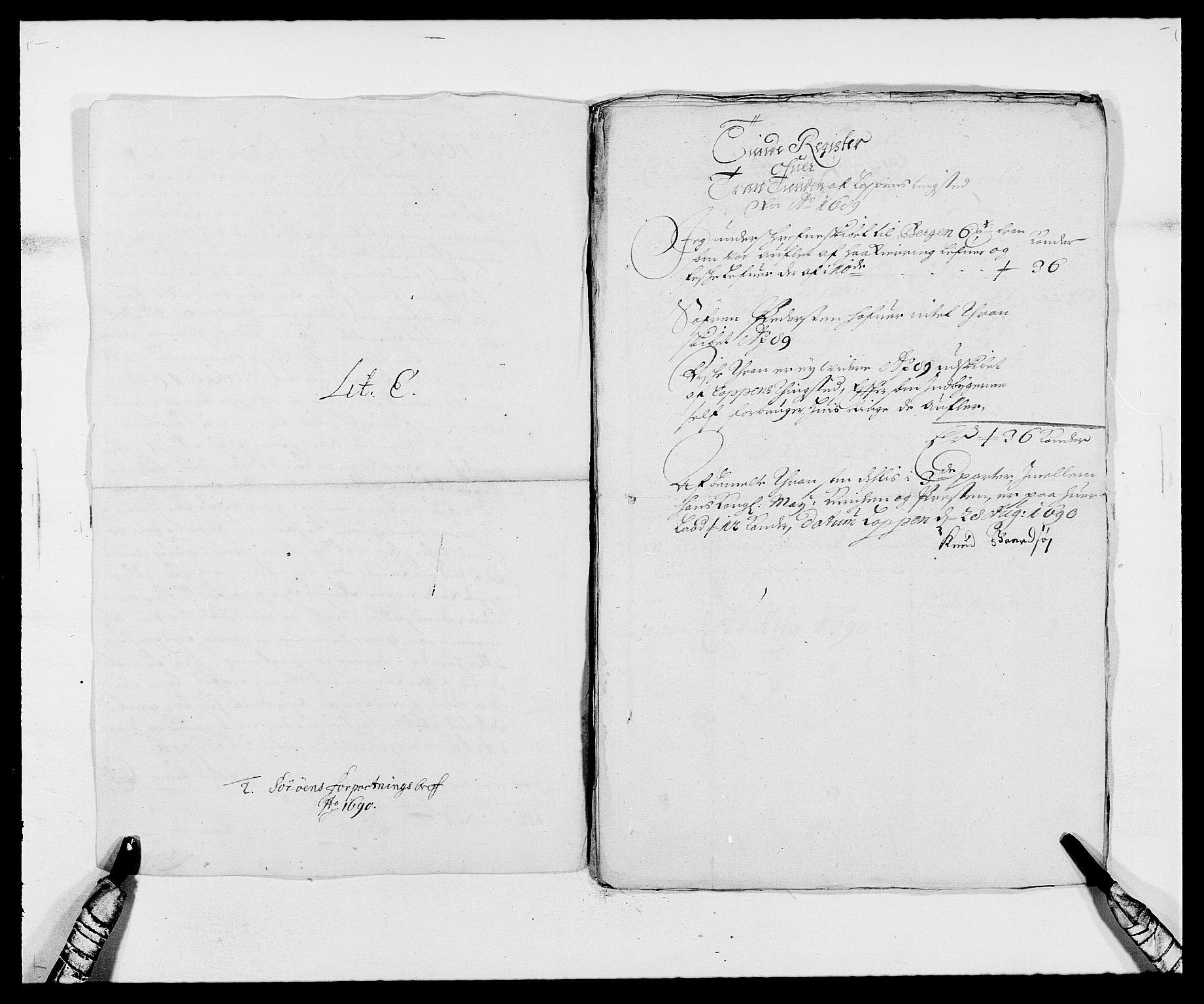 RA, Rentekammeret inntil 1814, Reviderte regnskaper, Fogderegnskap, R69/L4850: Fogderegnskap Finnmark/Vardøhus, 1680-1690, s. 233
