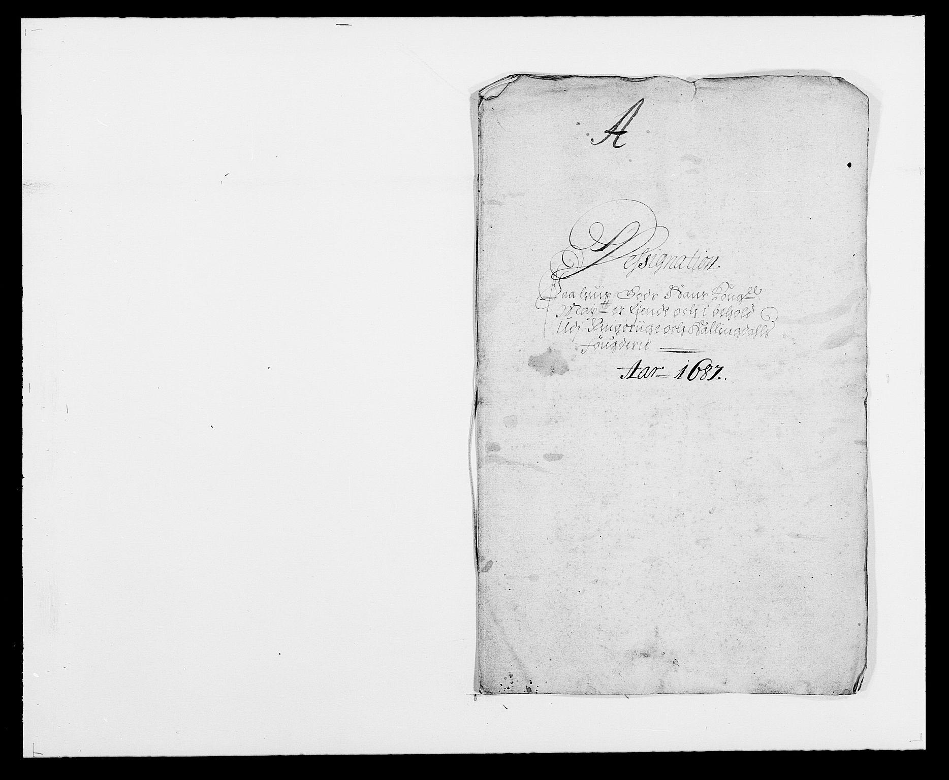 RA, Rentekammeret inntil 1814, Reviderte regnskaper, Fogderegnskap, R21/L1445: Fogderegnskap Ringerike og Hallingdal, 1681-1689, s. 227