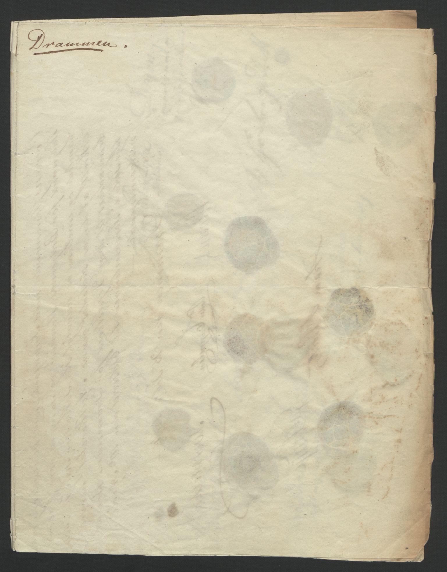 RA, Statsrådssekretariatet, D/Db/L0007: Fullmakter for Eidsvollsrepresentantene i 1814. , 1814, s. 5