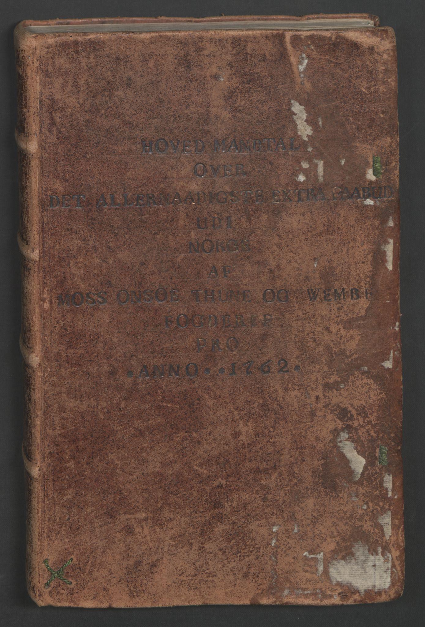 RA, Rentekammeret inntil 1814, Reviderte regnskaper, Fogderegnskap, R04/L0260: Ekstraskatten Moss, Onsøy, Tune, Veme og Åbygge, 1762, s. 29