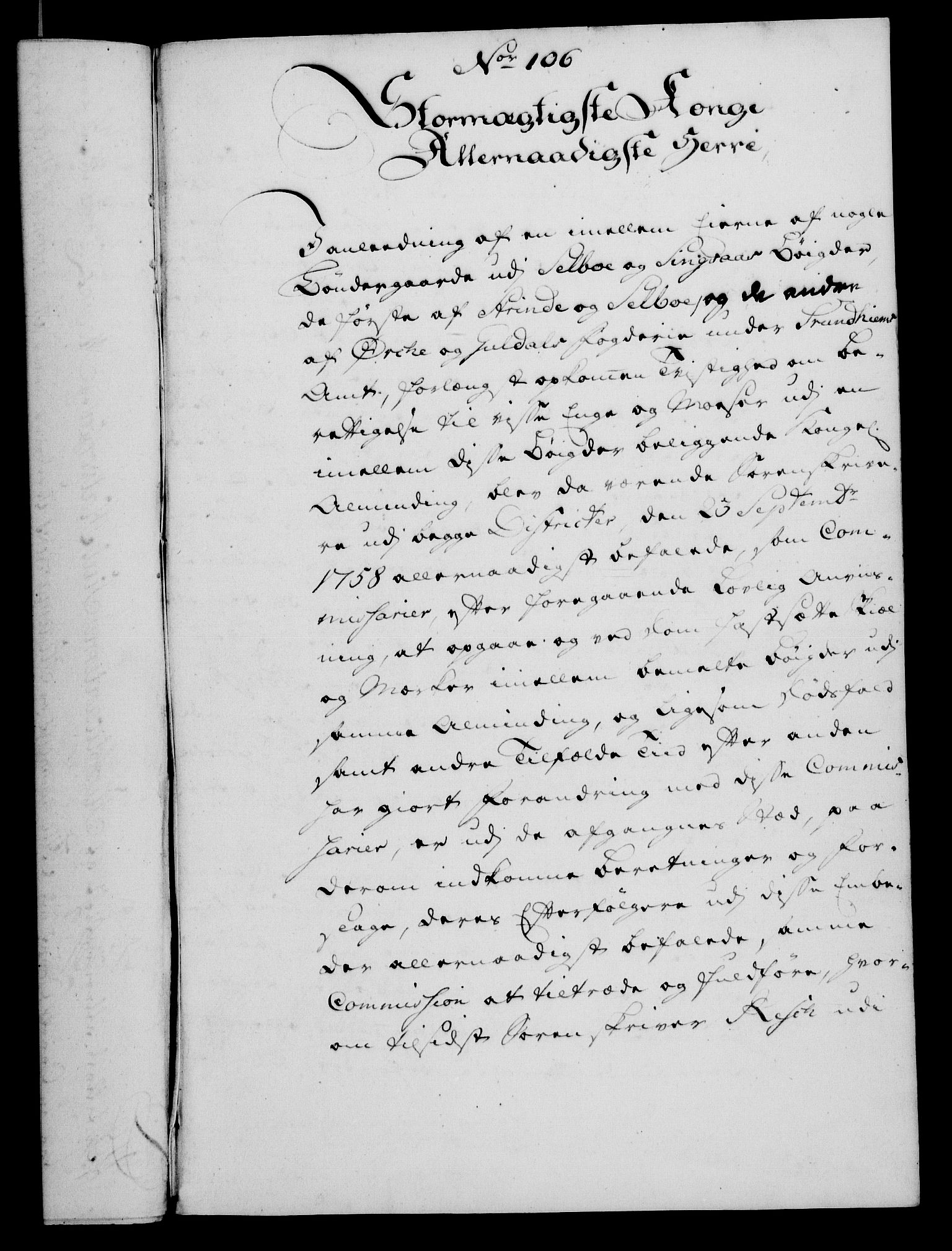 RA, Rentekammeret, Kammerkanselliet, G/Gf/Gfa/L0048: Norsk relasjons- og resolusjonsprotokoll (merket RK 52.48), 1766, s. 445
