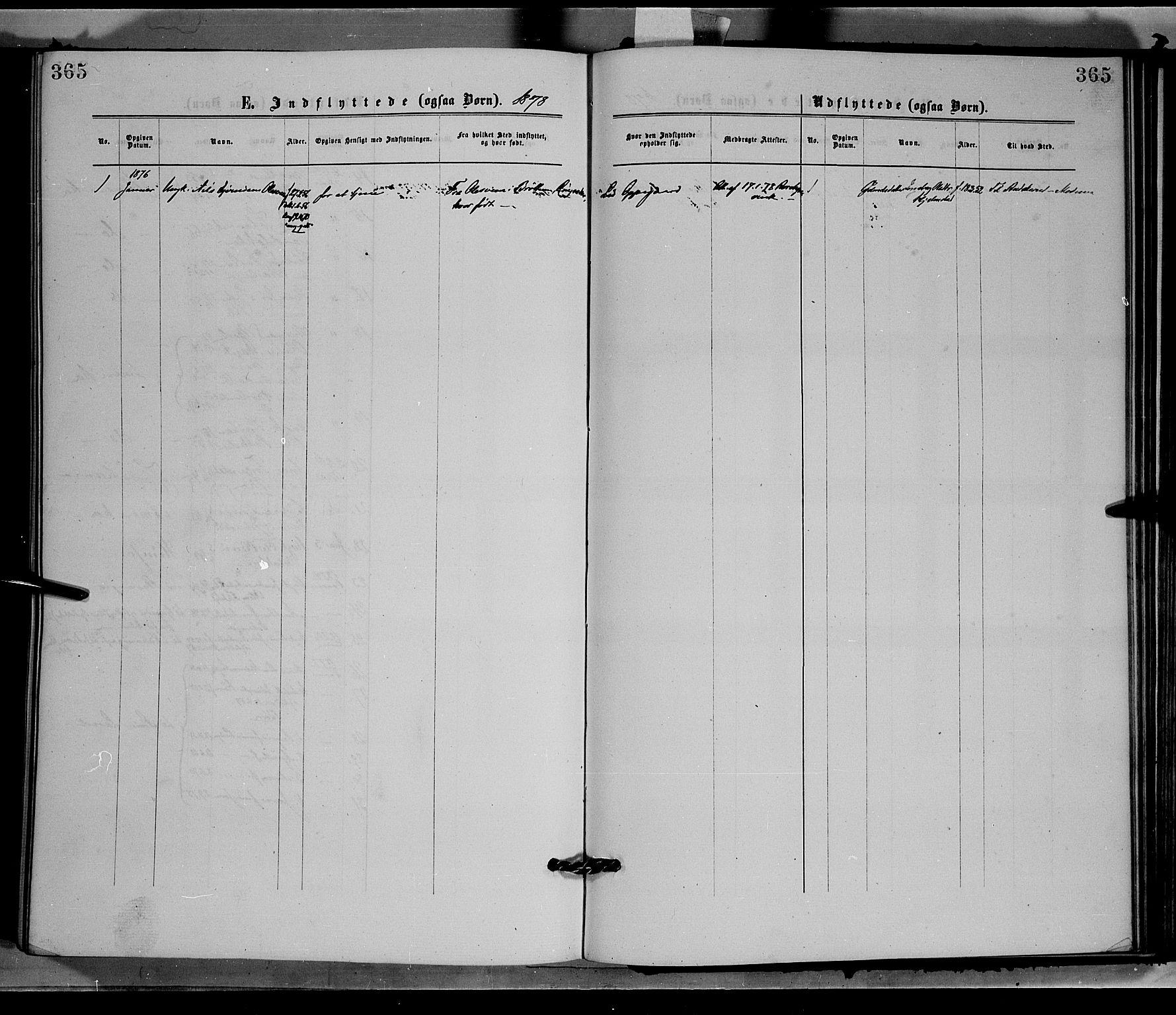 SAH, Øyer prestekontor, Ministerialbok nr. 7, 1875-1878, s. 365