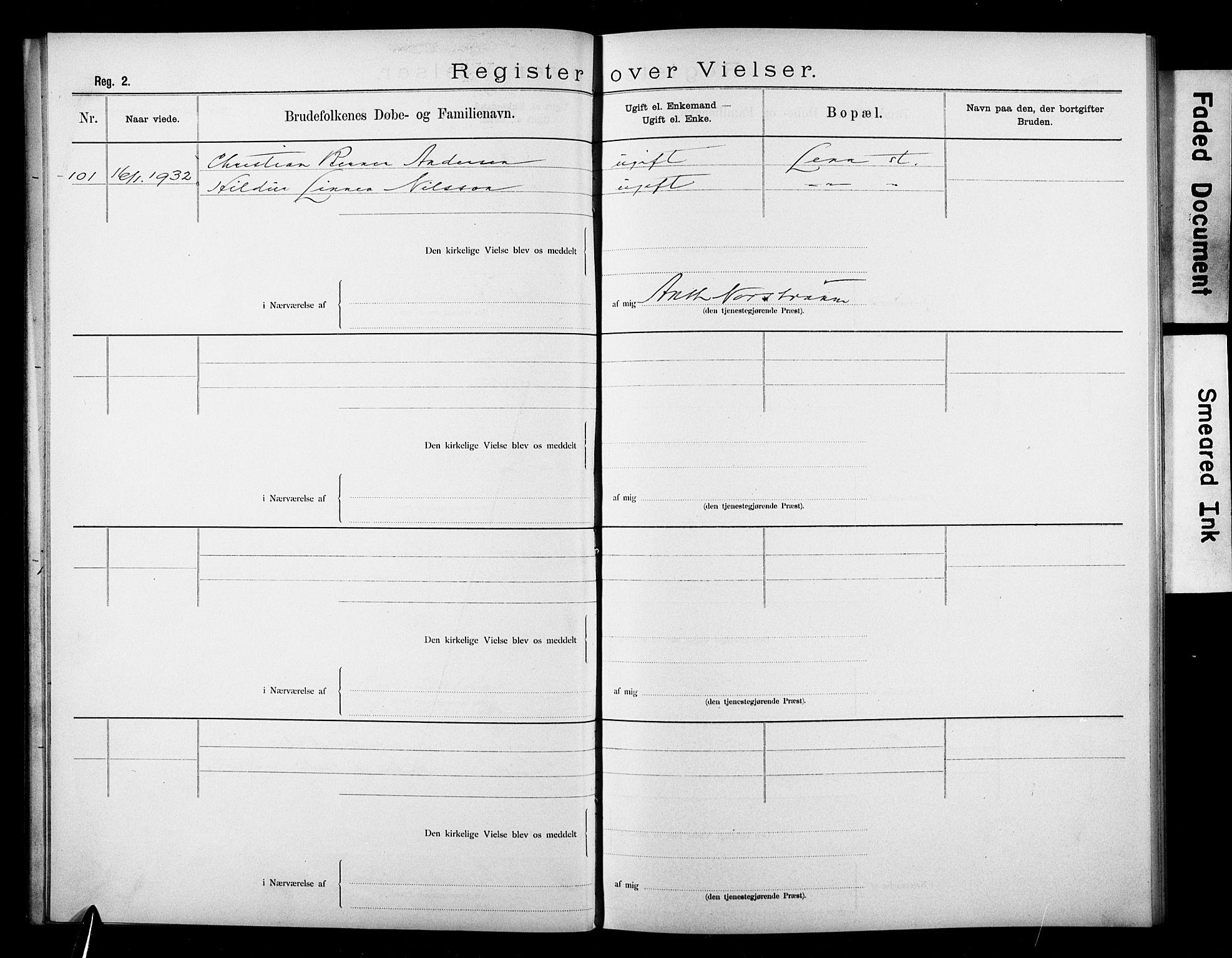 SAO, Den katolsk apostoliske menighet i Oslo , F/Fb/L0003: Dissenterprotokoll nr. 3, 1905-1932