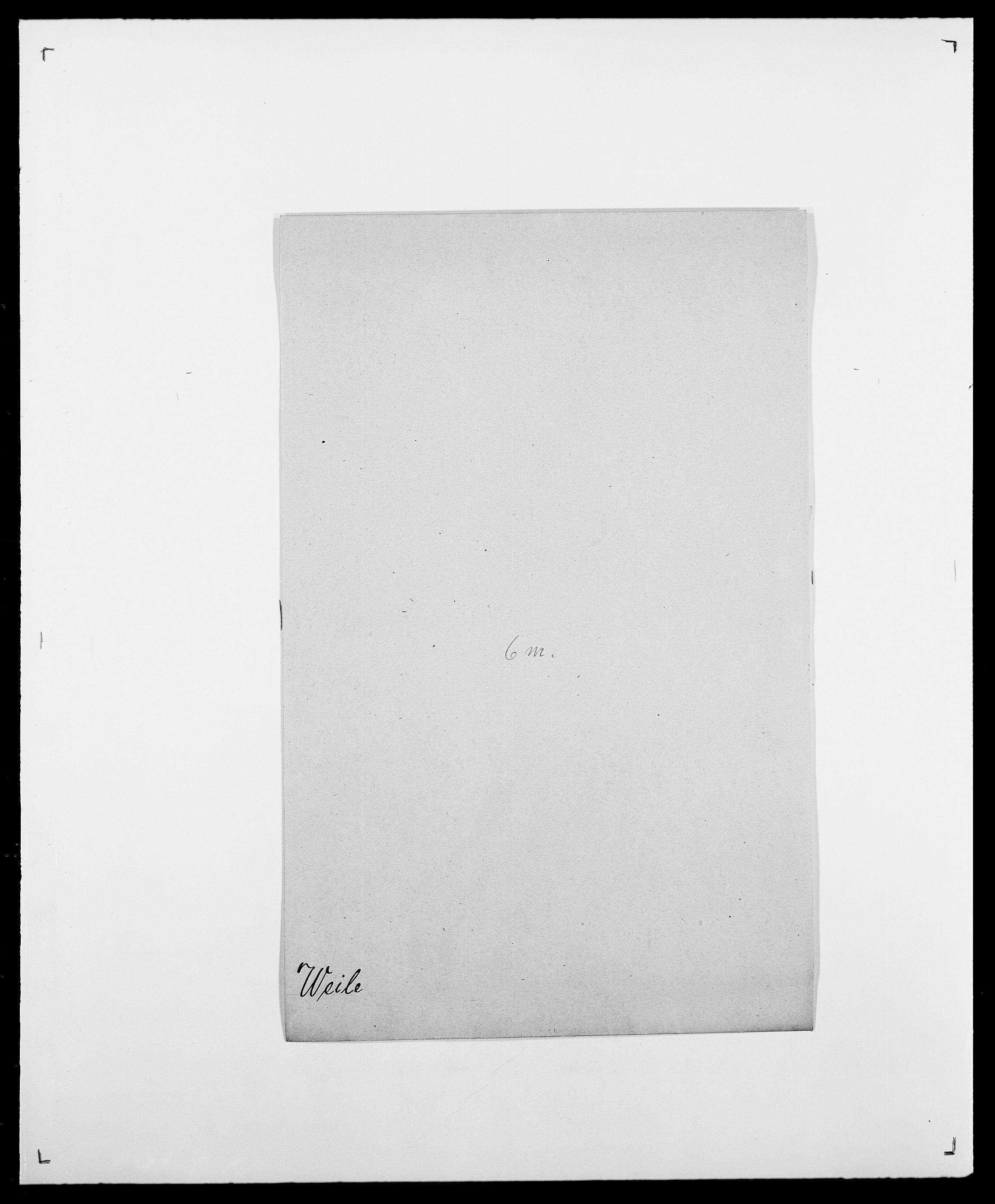 SAO, Delgobe, Charles Antoine - samling, D/Da/L0040: Usgaard - Velund, s. 579
