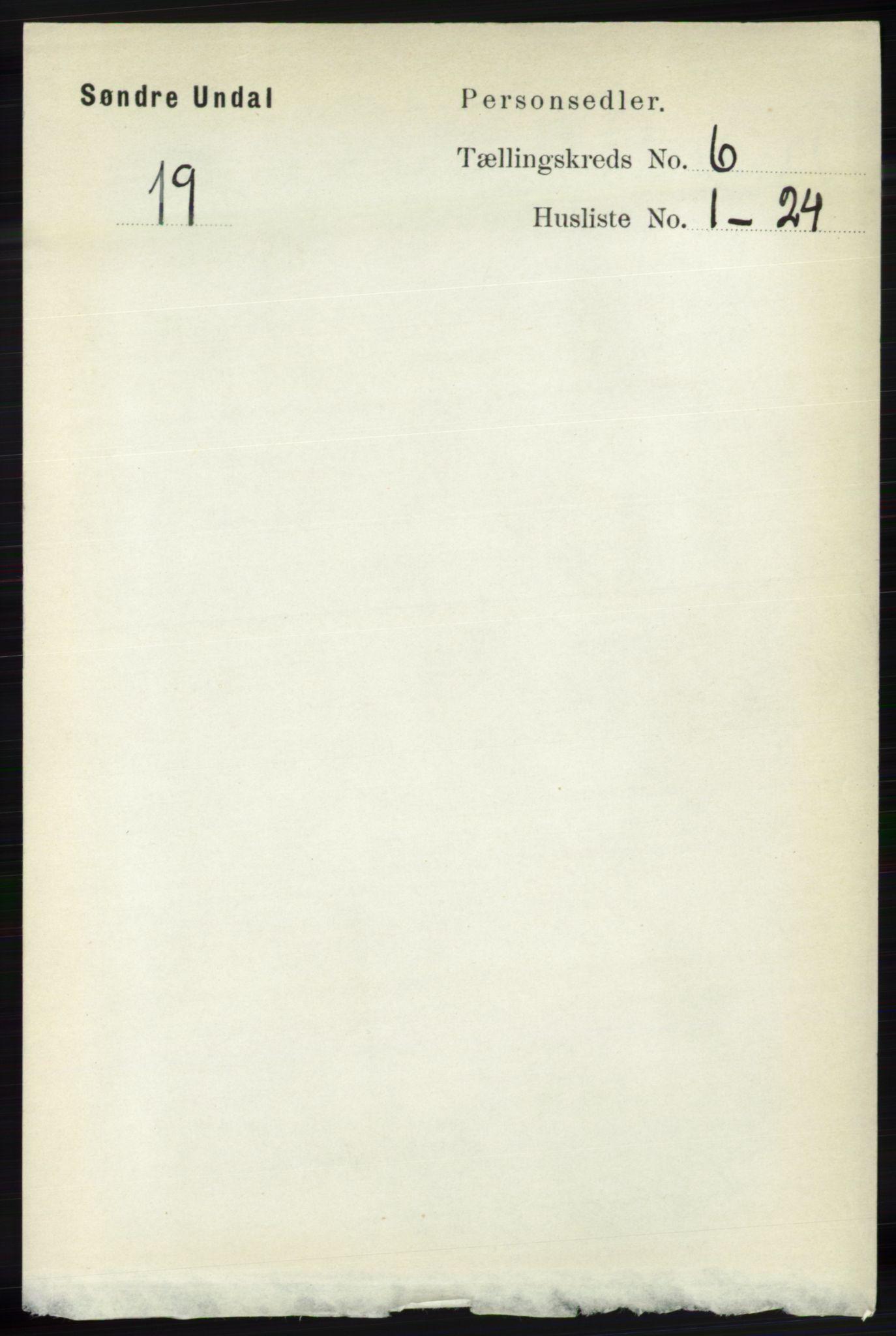 RA, Folketelling 1891 for 1029 Sør-Audnedal herred, 1891, s. 2287