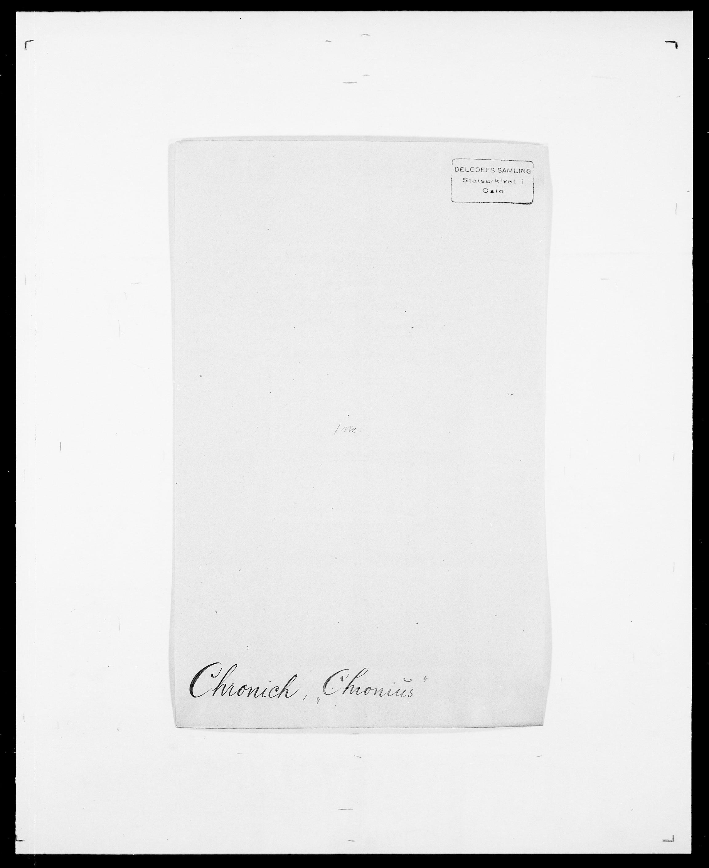 SAO, Delgobe, Charles Antoine - samling, D/Da/L0008: Capjon - Dagenbolt, s. 289