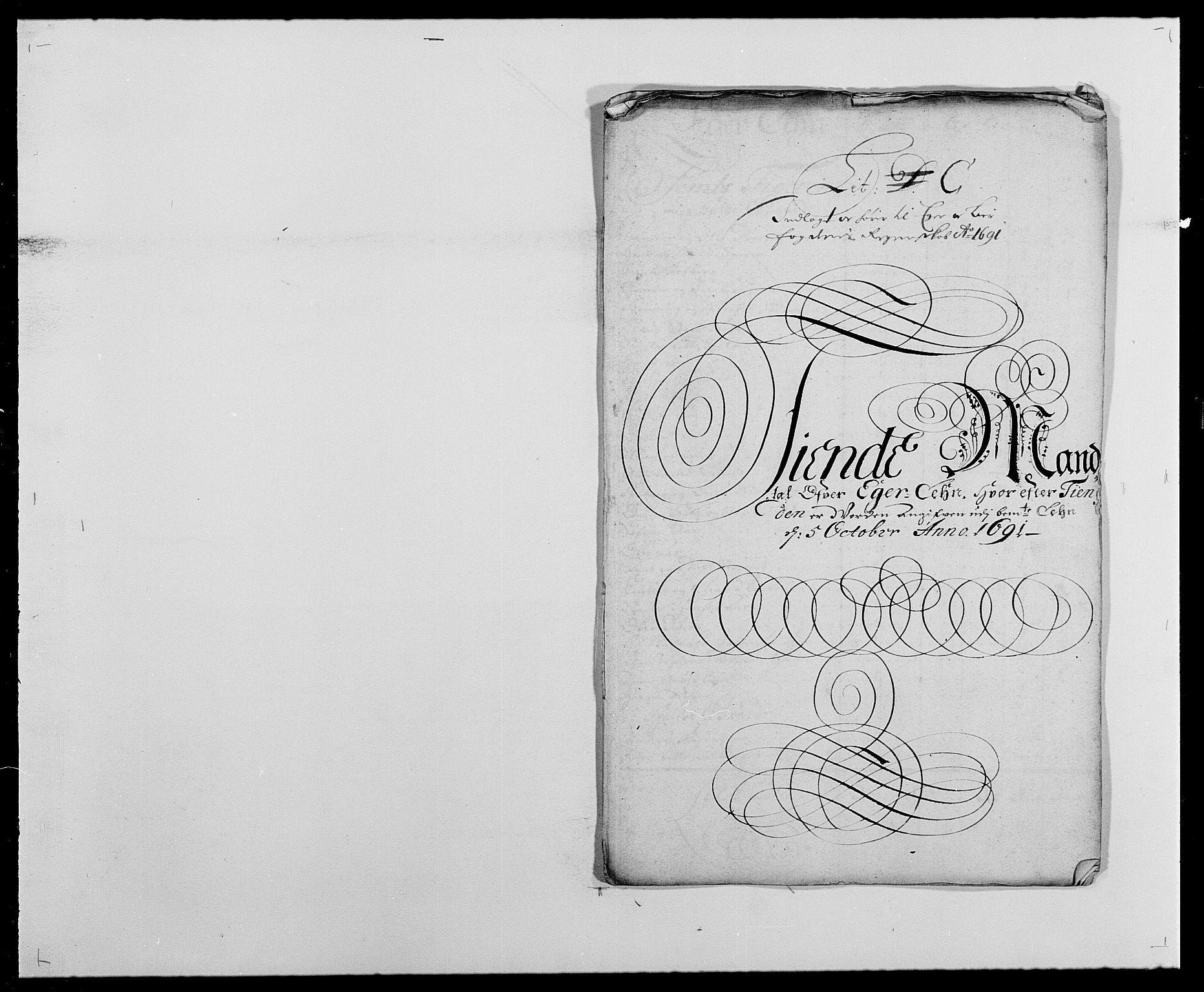 RA, Rentekammeret inntil 1814, Reviderte regnskaper, Fogderegnskap, R28/L1689: Fogderegnskap Eiker og Lier, 1690-1691, s. 227