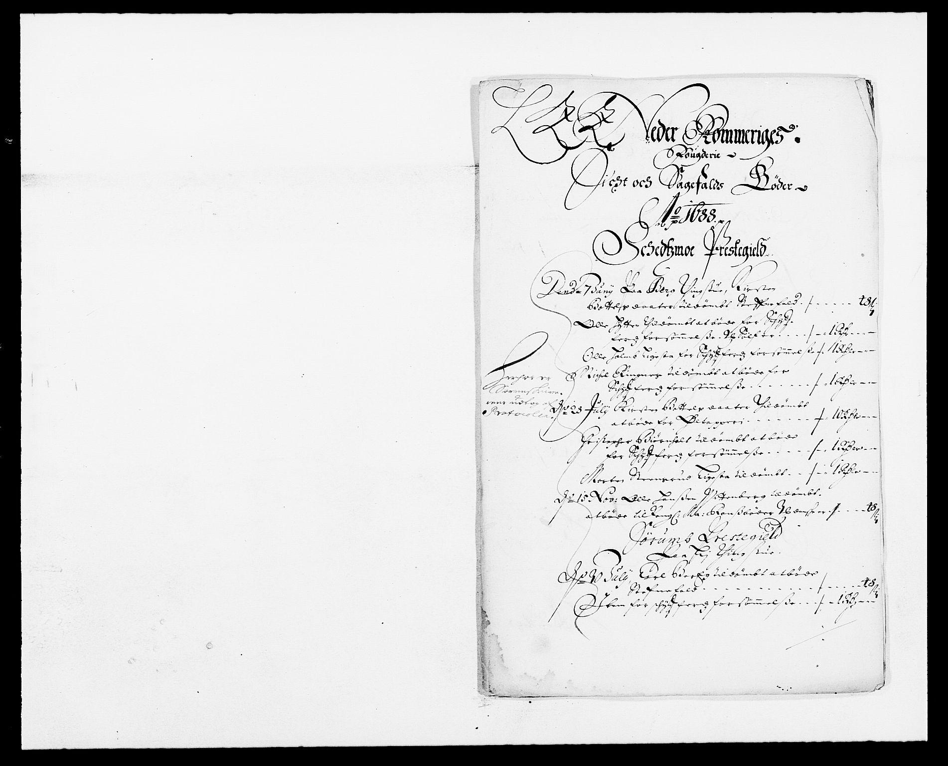 RA, Rentekammeret inntil 1814, Reviderte regnskaper, Fogderegnskap, R11/L0573: Fogderegnskap Nedre Romerike, 1679-1688, s. 6