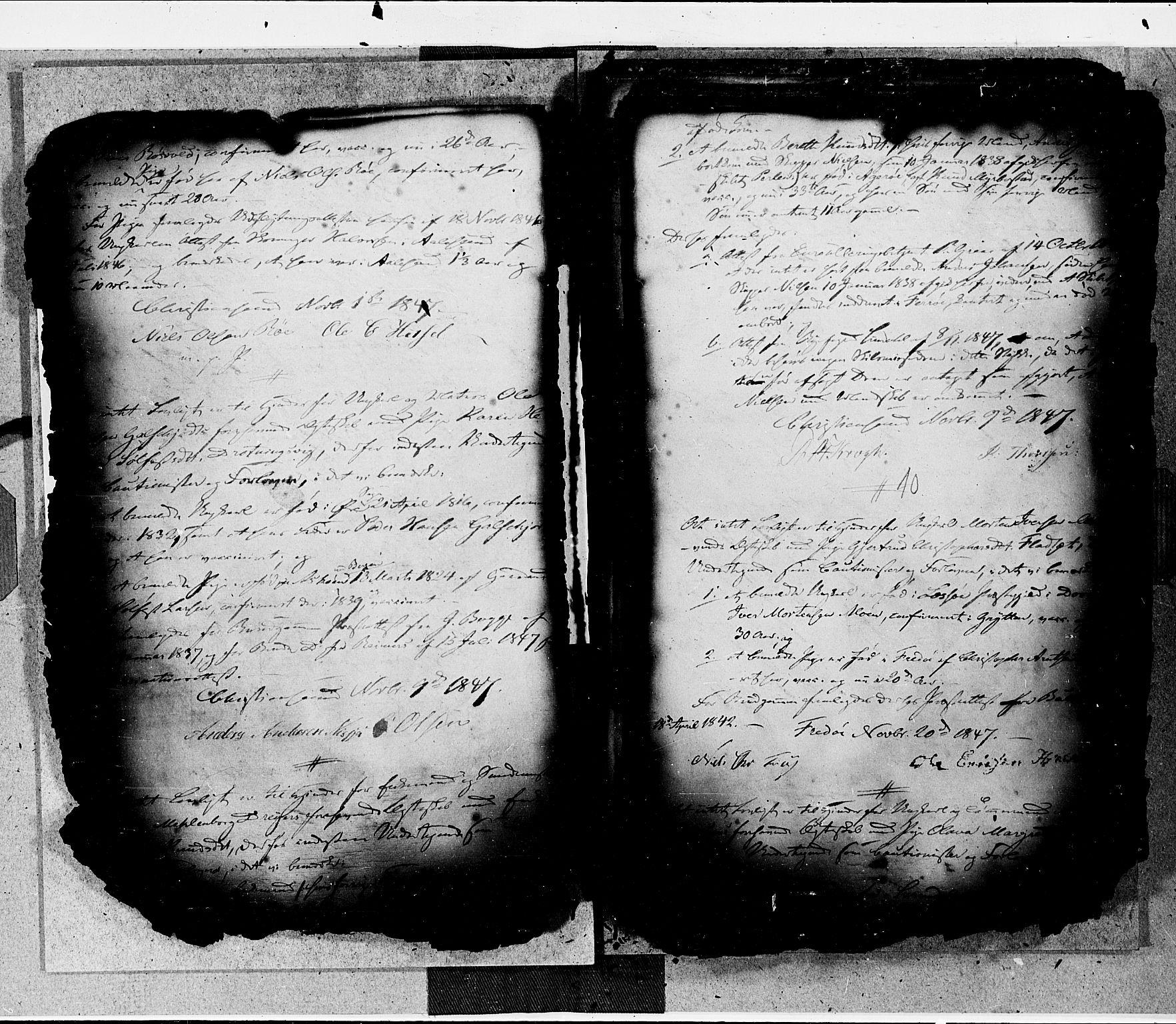 SAT, Arkivreferanse ukjent*, Forlovererklæringer nr. 16, 1846-1855, s. 10