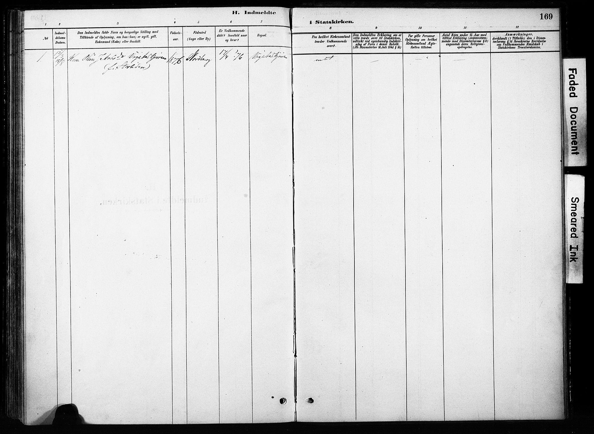 SAH, Skjåk prestekontor, Ministerialbok nr. 4, 1880-1904, s. 169