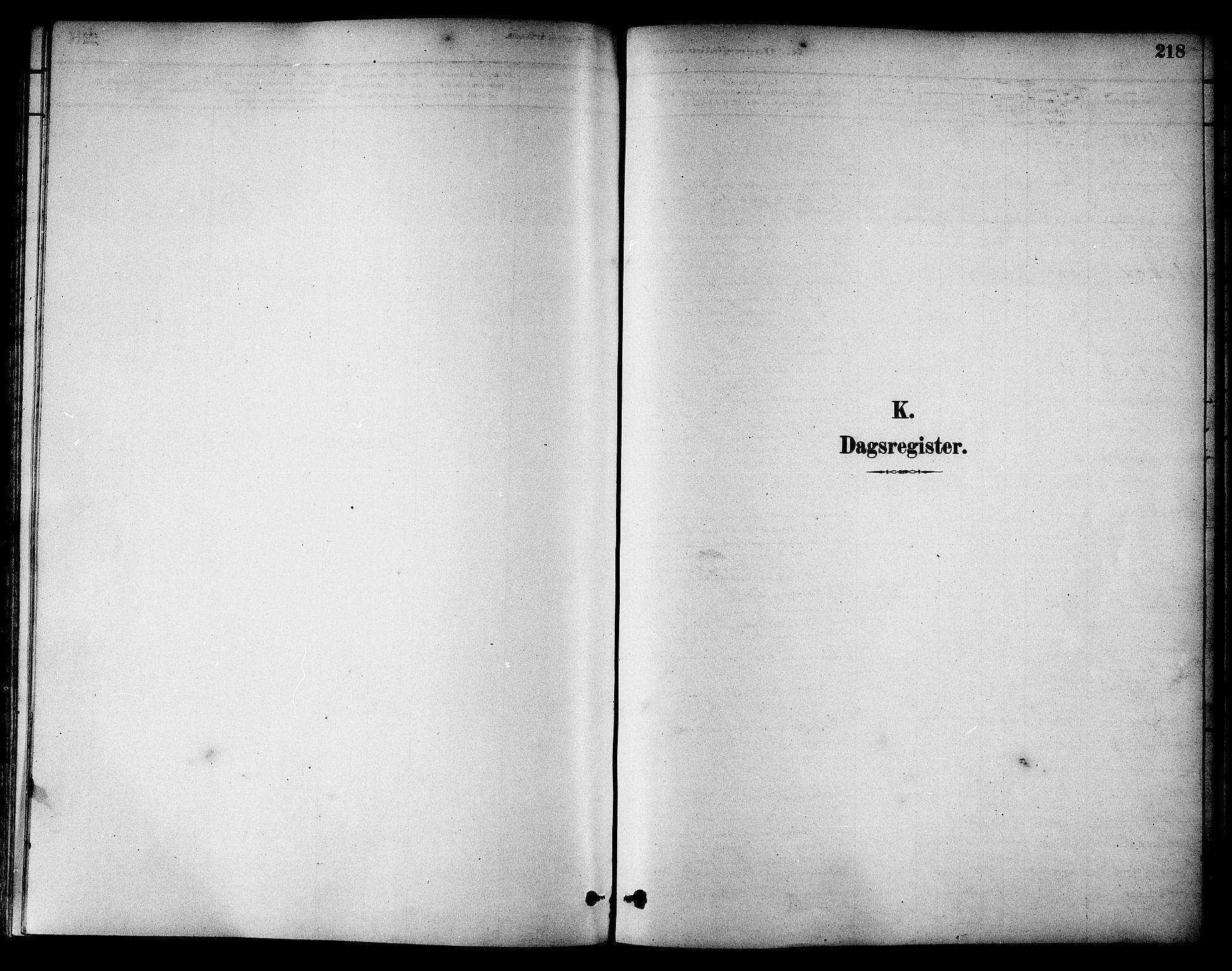 SAT, Ministerialprotokoller, klokkerbøker og fødselsregistre - Nord-Trøndelag, 784/L0672: Ministerialbok nr. 784A07, 1880-1887, s. 218