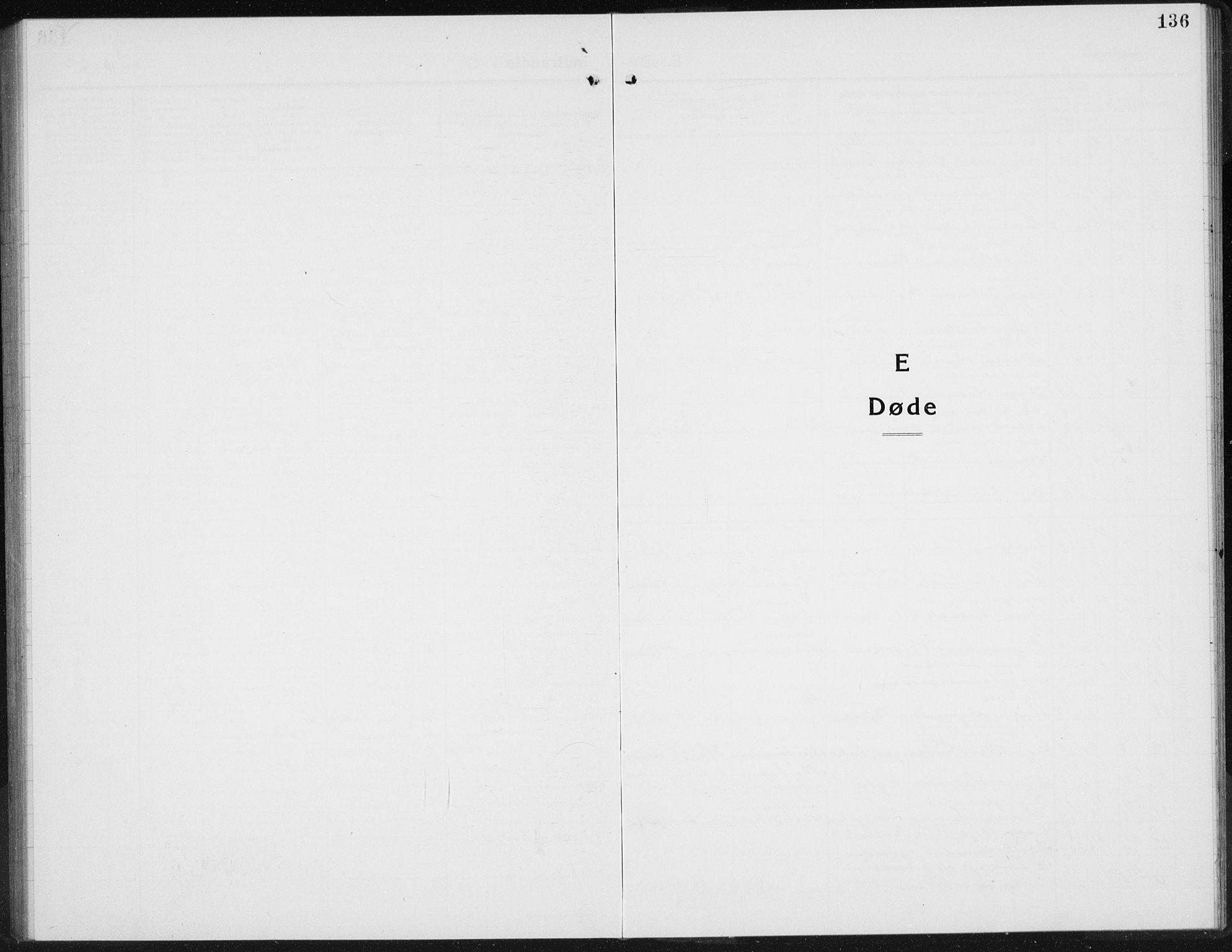 SAH, Gran prestekontor, Klokkerbok nr. 8, 1917-1935, s. 136