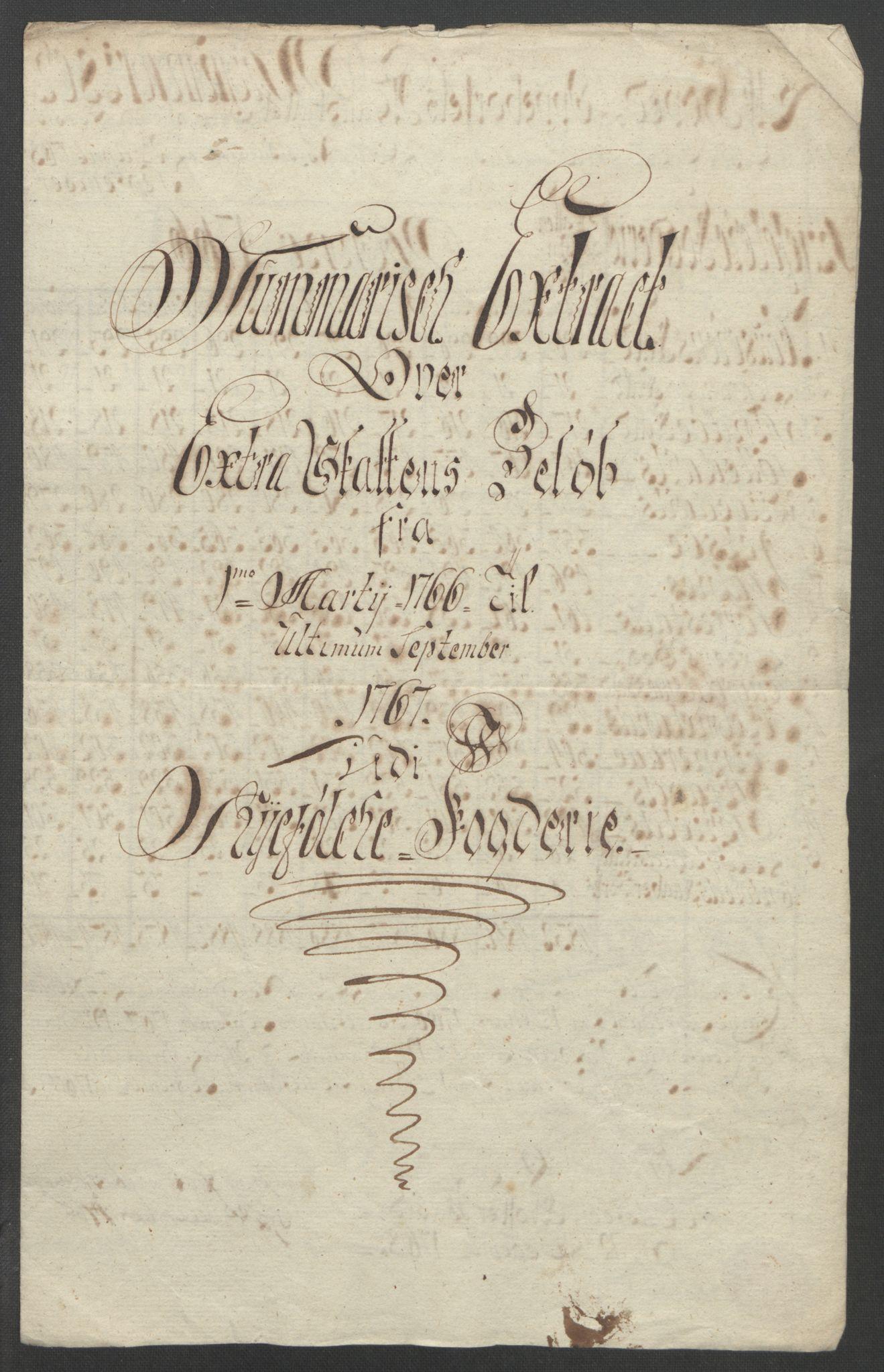 RA, Rentekammeret inntil 1814, Reviderte regnskaper, Fogderegnskap, R47/L2972: Ekstraskatten Ryfylke, 1762-1780, s. 77