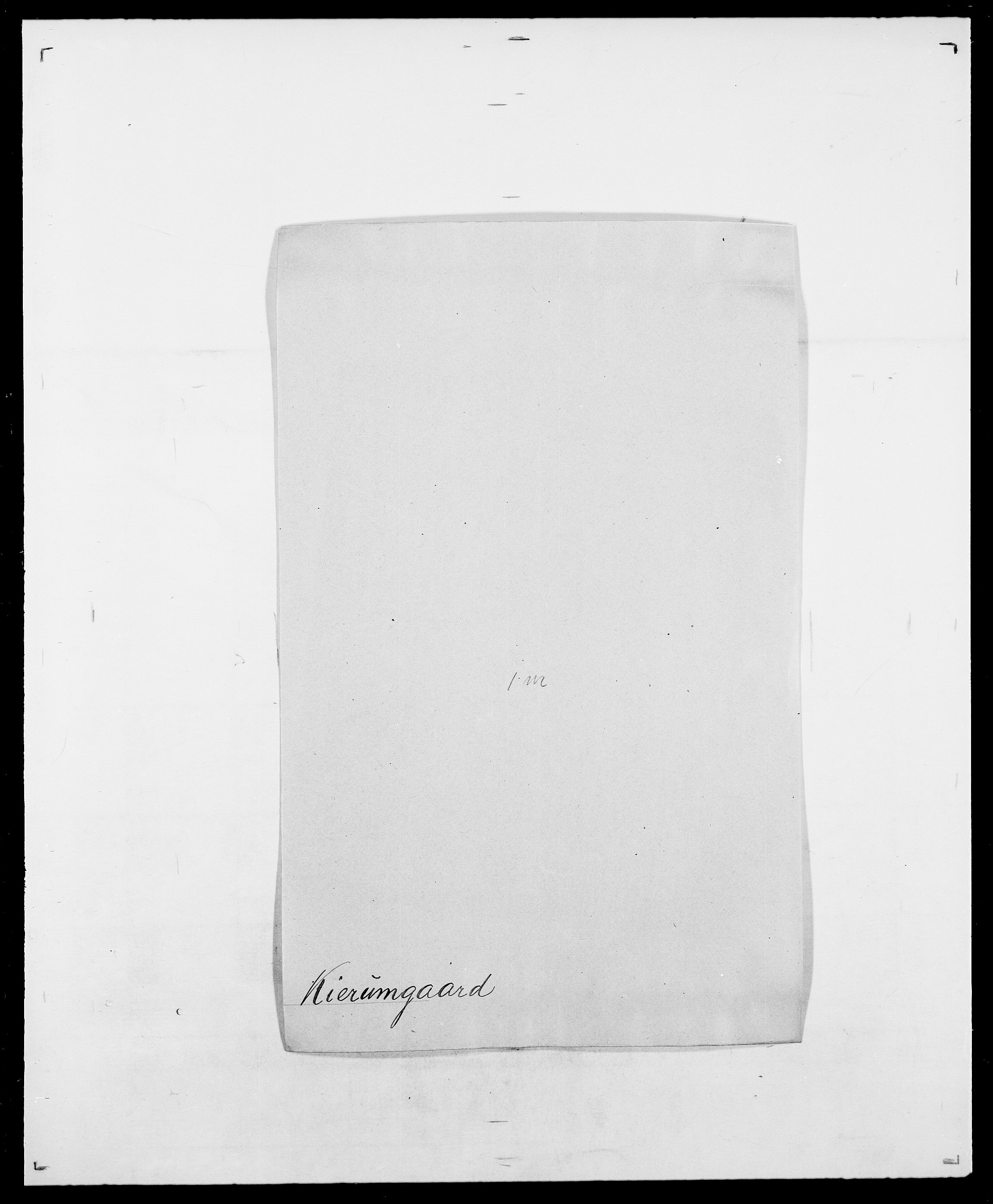 SAO, Delgobe, Charles Antoine - samling, D/Da/L0020: Irgens - Kjøsterud, s. 575