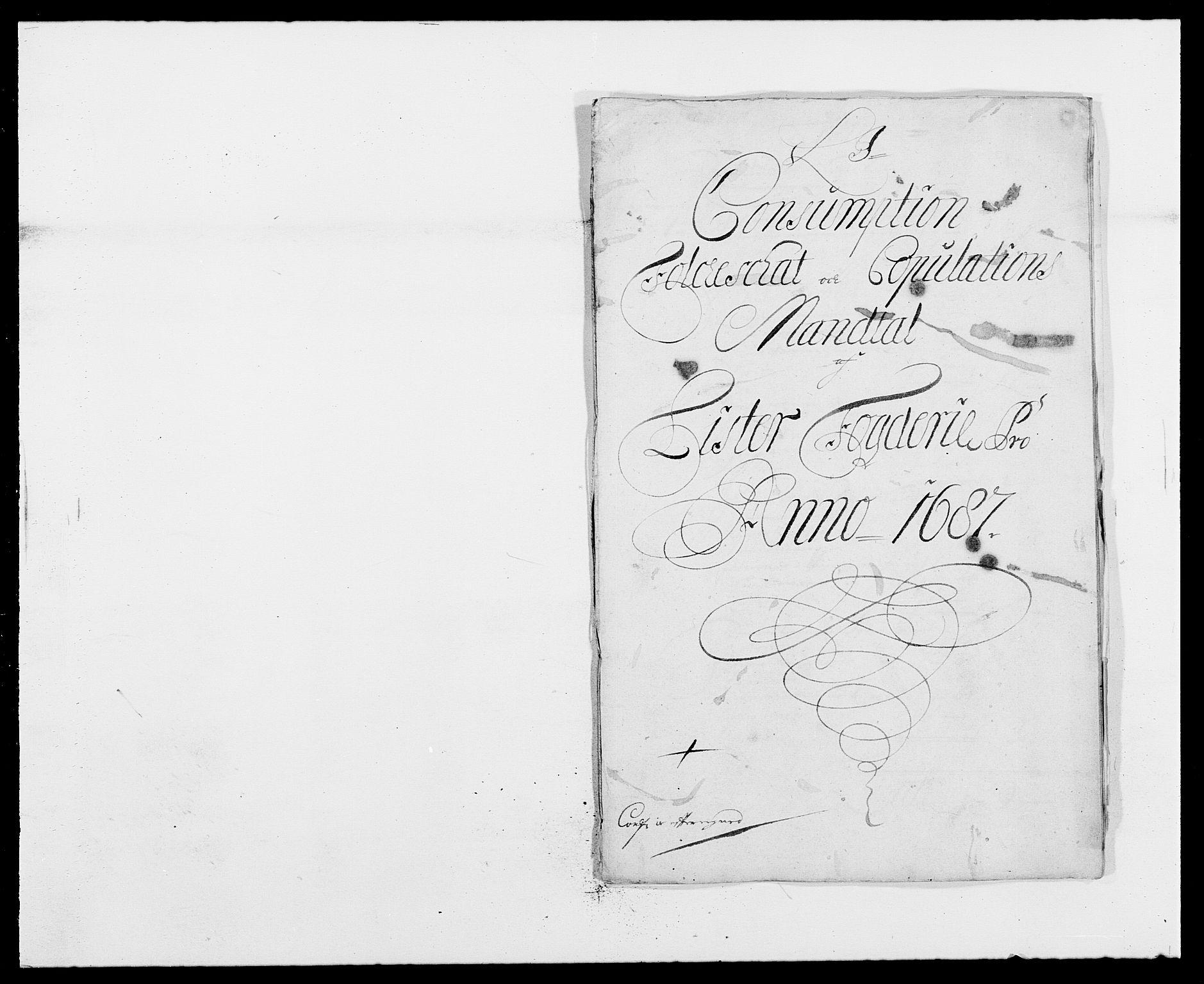 RA, Rentekammeret inntil 1814, Reviderte regnskaper, Fogderegnskap, R41/L2534: Fogderegnskap Lista, 1686-1688, s. 147