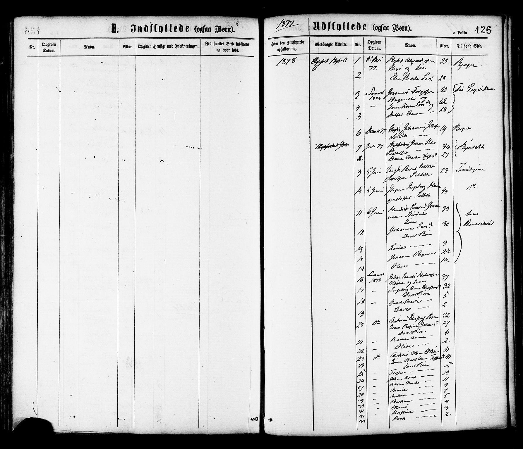 SAT, Ministerialprotokoller, klokkerbøker og fødselsregistre - Sør-Trøndelag, 646/L0613: Ministerialbok nr. 646A11, 1870-1884, s. 426