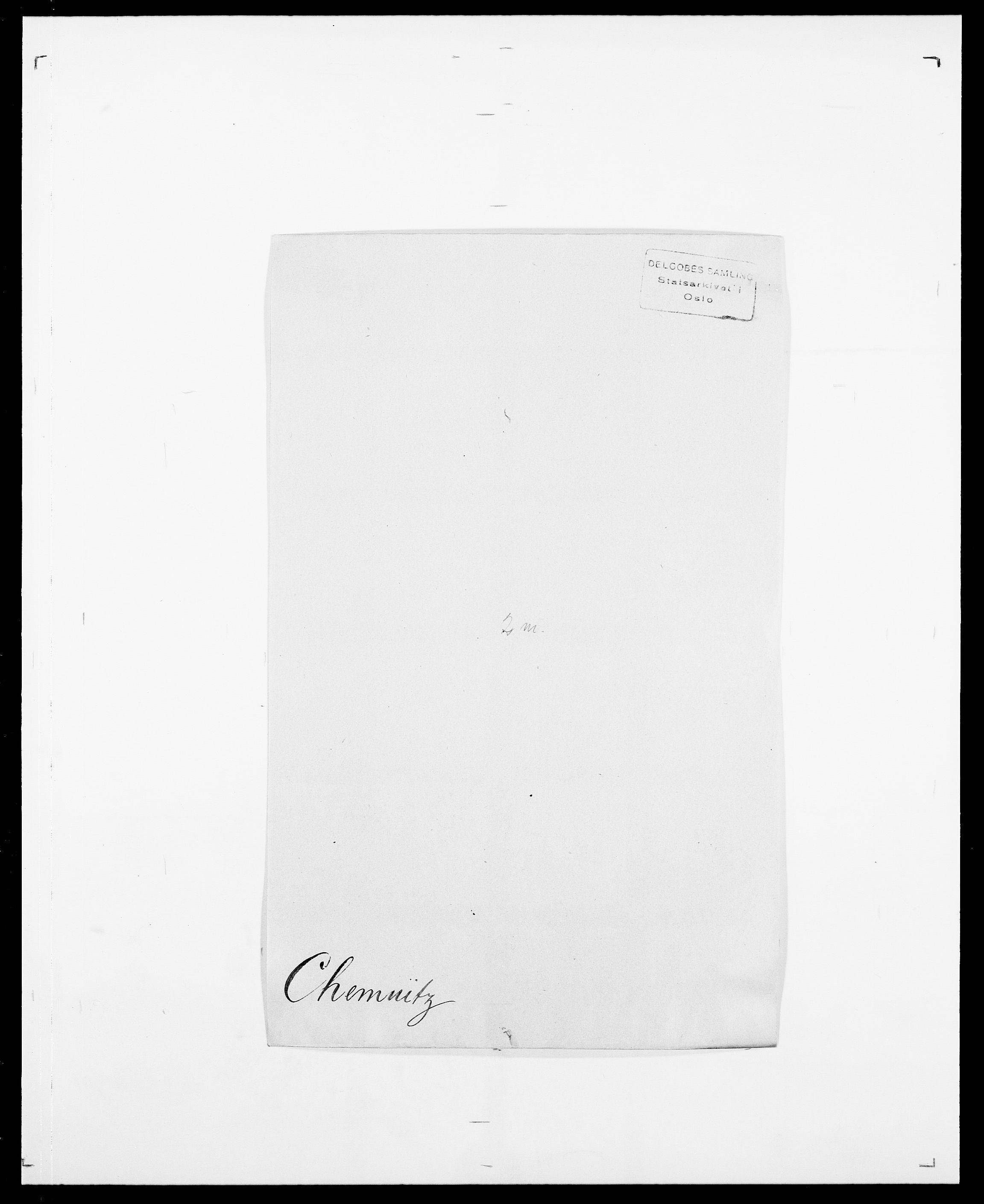 SAO, Delgobe, Charles Antoine - samling, D/Da/L0008: Capjon - Dagenbolt, s. 172