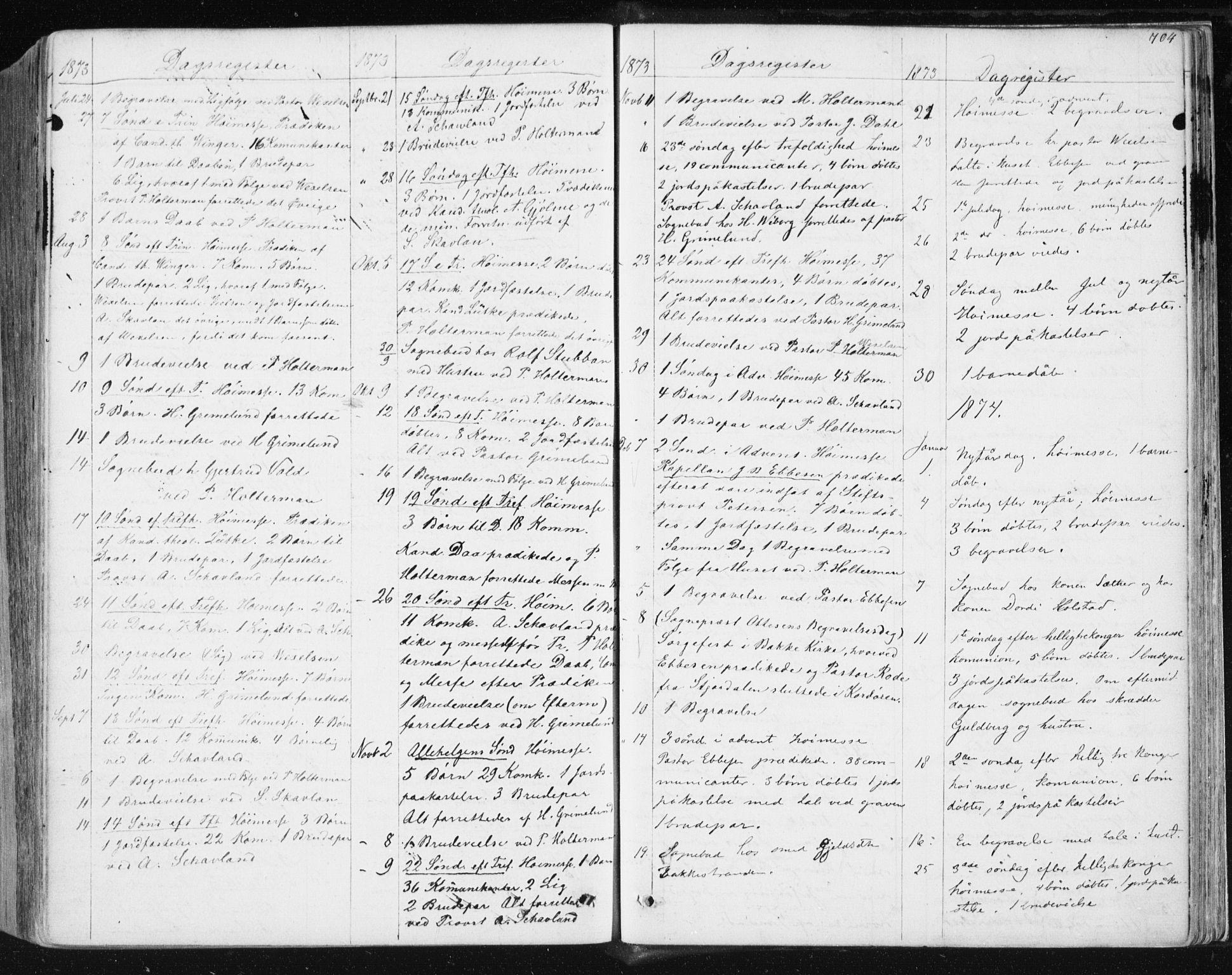 SAT, Ministerialprotokoller, klokkerbøker og fødselsregistre - Sør-Trøndelag, 604/L0186: Ministerialbok nr. 604A07, 1866-1877, s. 704