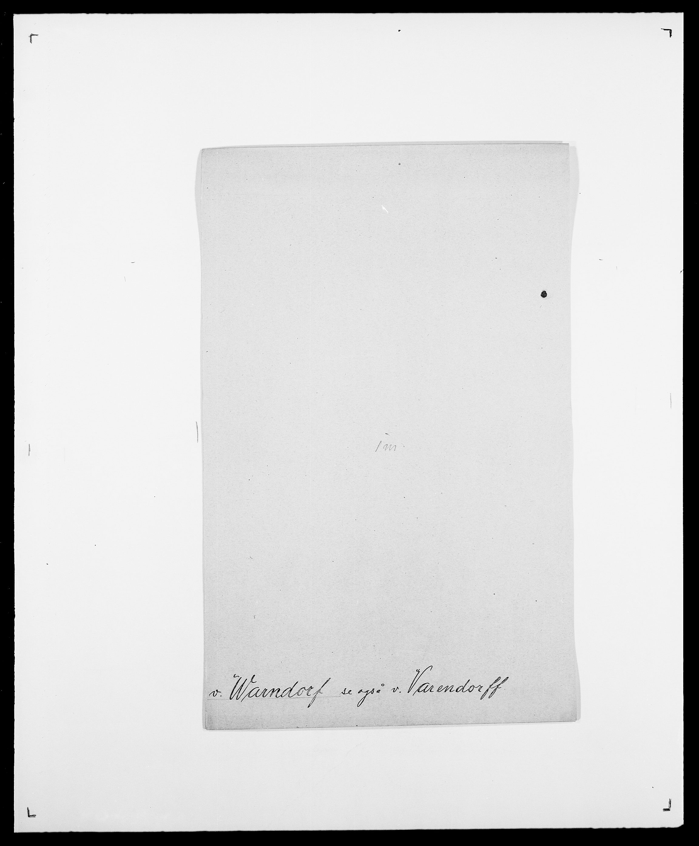 SAO, Delgobe, Charles Antoine - samling, D/Da/L0040: Usgaard - Velund, s. 333