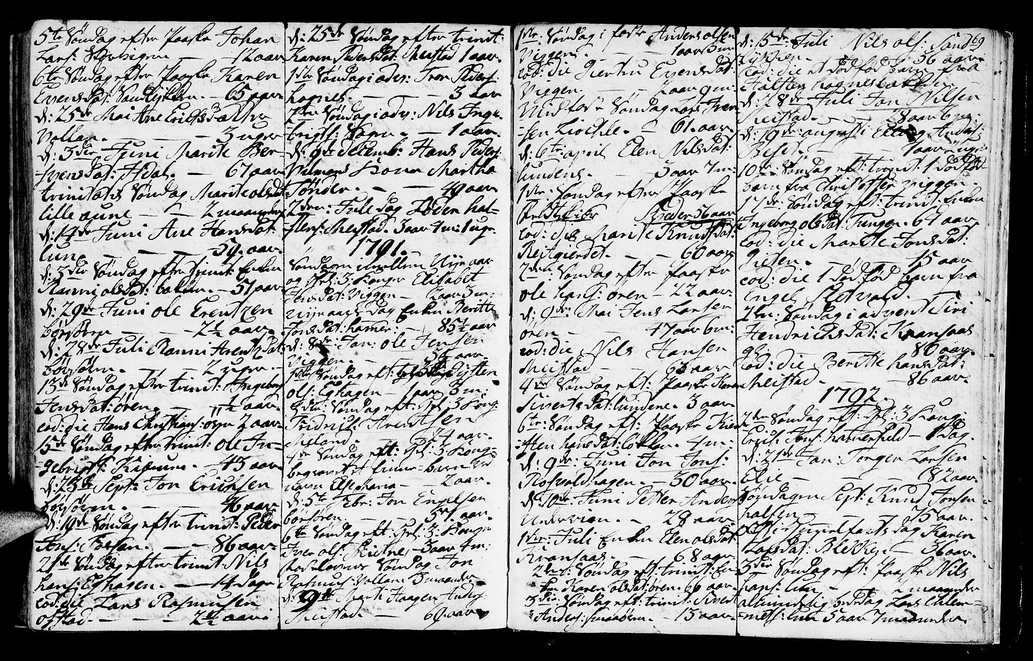 SAT, Ministerialprotokoller, klokkerbøker og fødselsregistre - Sør-Trøndelag, 665/L0768: Ministerialbok nr. 665A03, 1754-1803, s. 169