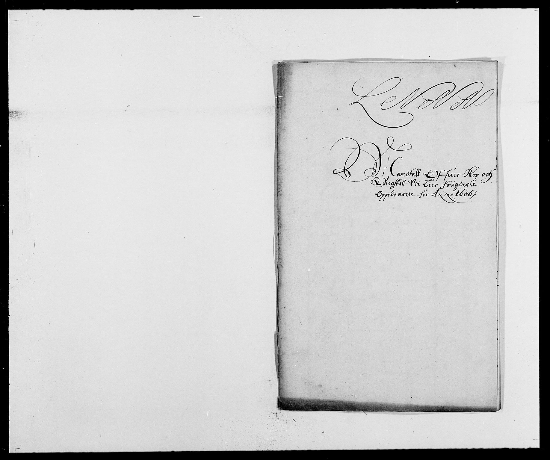 RA, Rentekammeret inntil 1814, Reviderte regnskaper, Fogderegnskap, R27/L1687: Fogderegnskap Lier, 1678-1686, s. 277