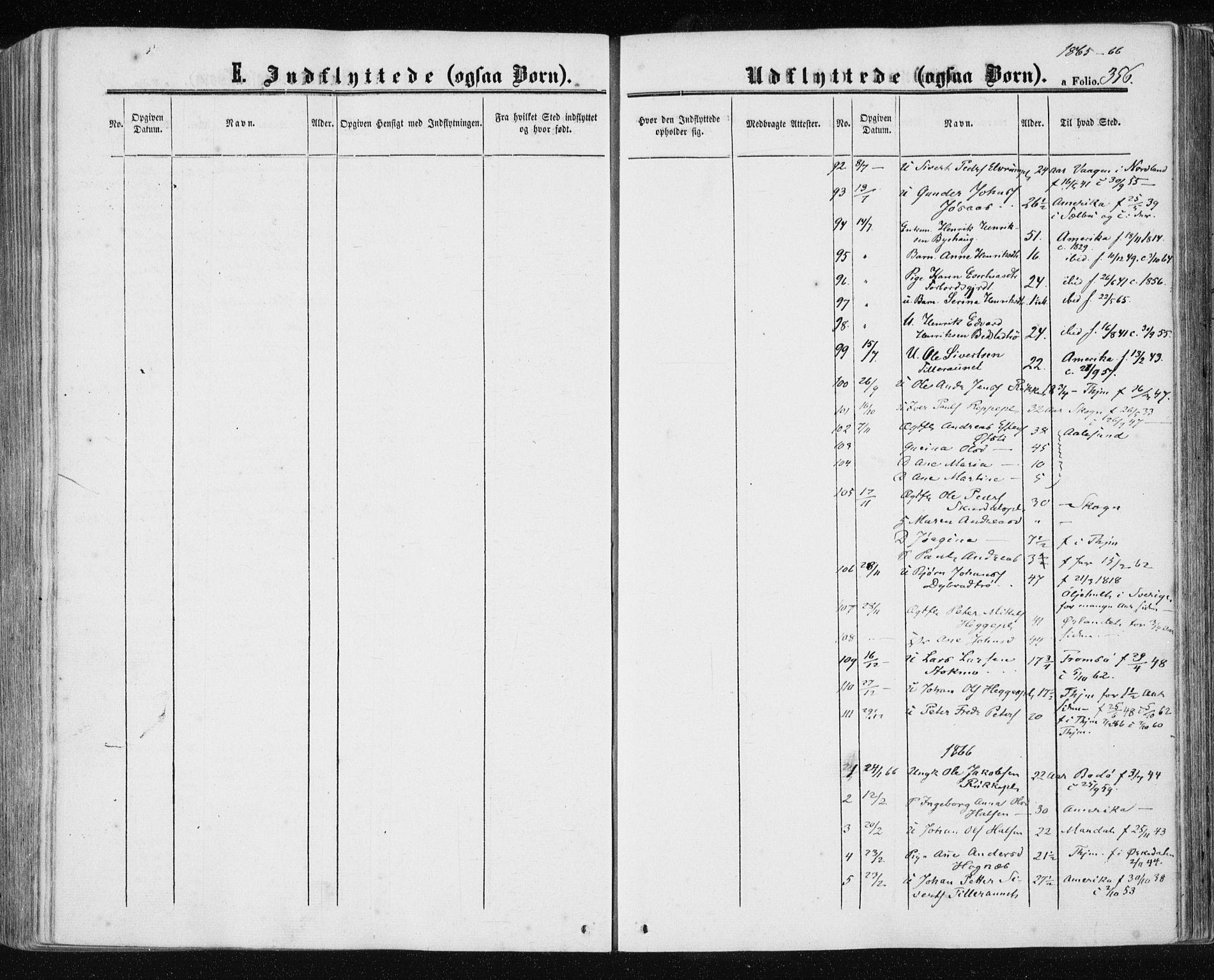 SAT, Ministerialprotokoller, klokkerbøker og fødselsregistre - Nord-Trøndelag, 709/L0075: Ministerialbok nr. 709A15, 1859-1870, s. 356