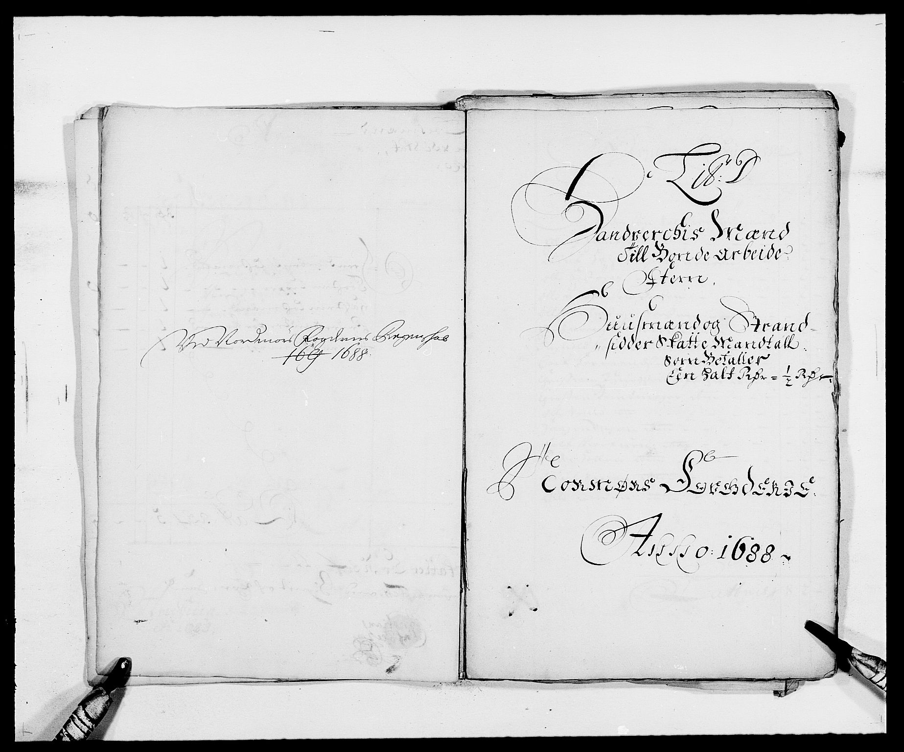 RA, Rentekammeret inntil 1814, Reviderte regnskaper, Fogderegnskap, R56/L3733: Fogderegnskap Nordmøre, 1687-1689, s. 234