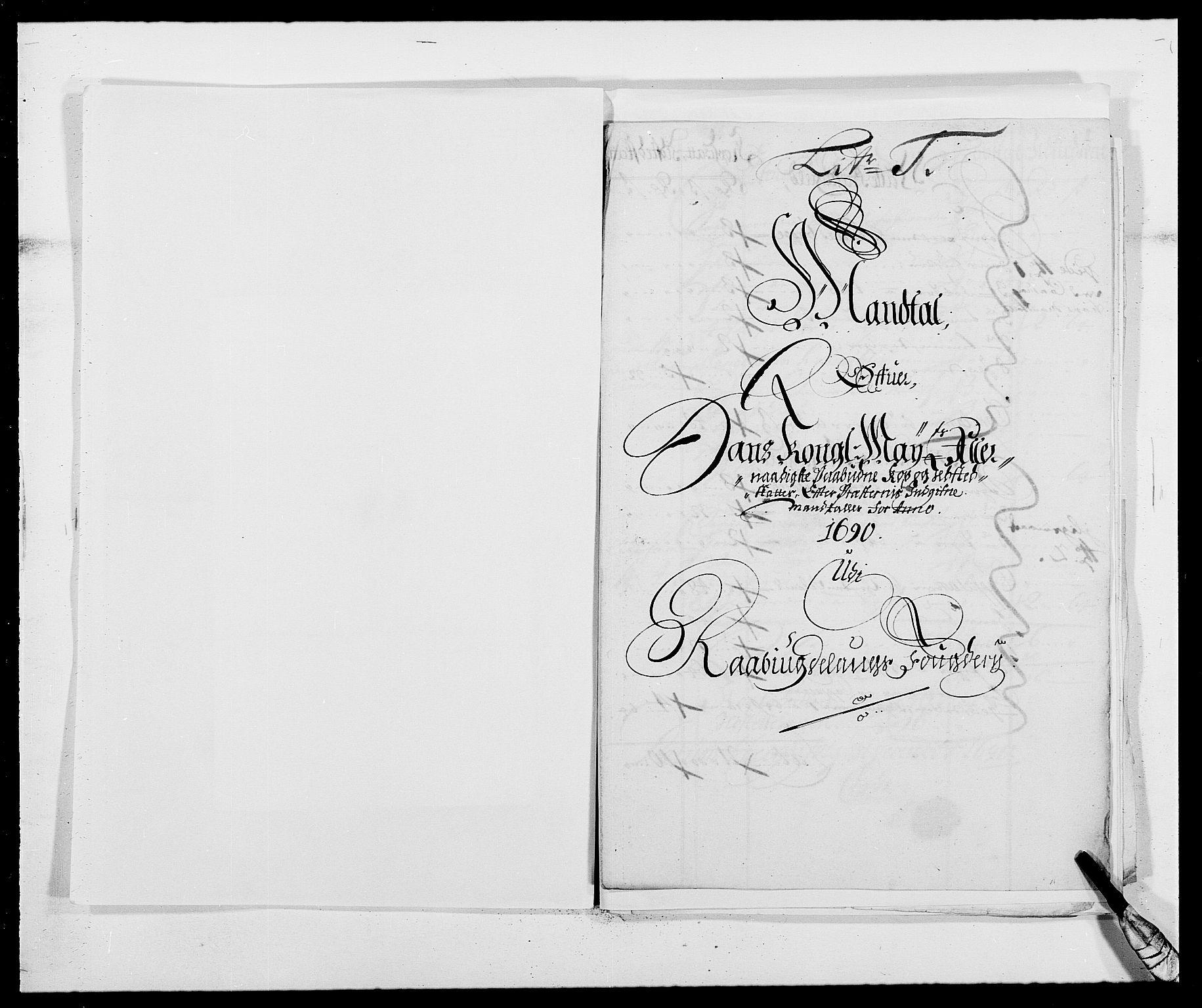 RA, Rentekammeret inntil 1814, Reviderte regnskaper, Fogderegnskap, R40/L2442: Fogderegnskap Råbyggelag, 1689-1690, s. 189