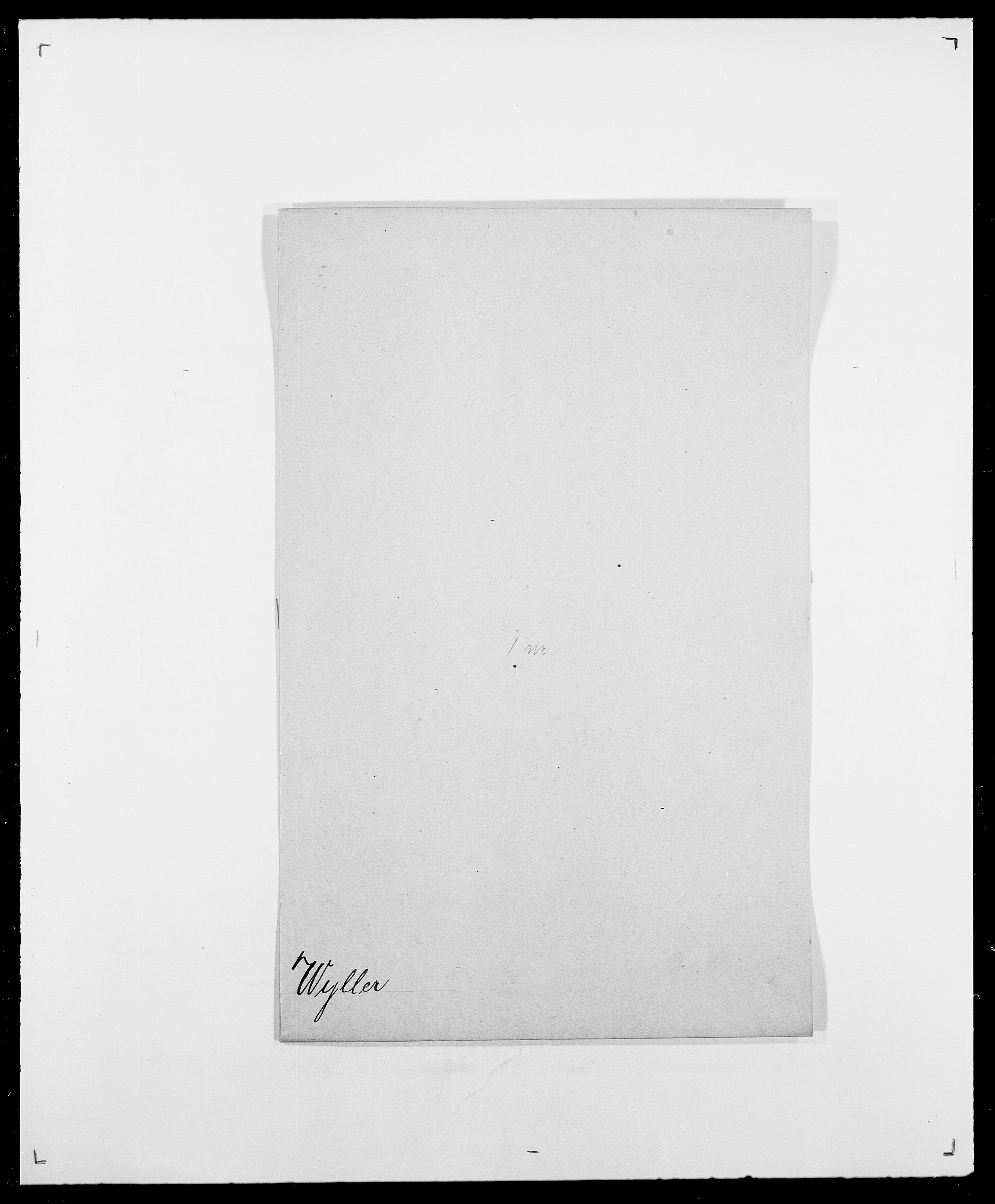 SAO, Delgobe, Charles Antoine - samling, D/Da/L0043: Wulfsberg - v. Zanten, s. 18