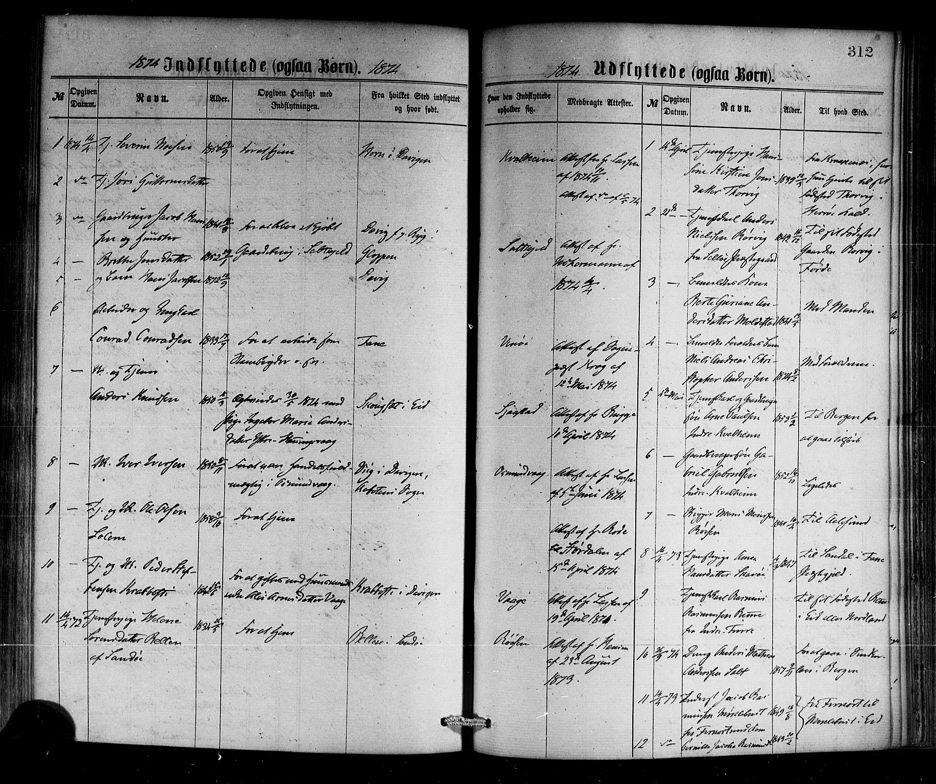 SAB, Selje sokneprestembete*, Ministerialbok nr. A 12, 1870-1880, s. 312